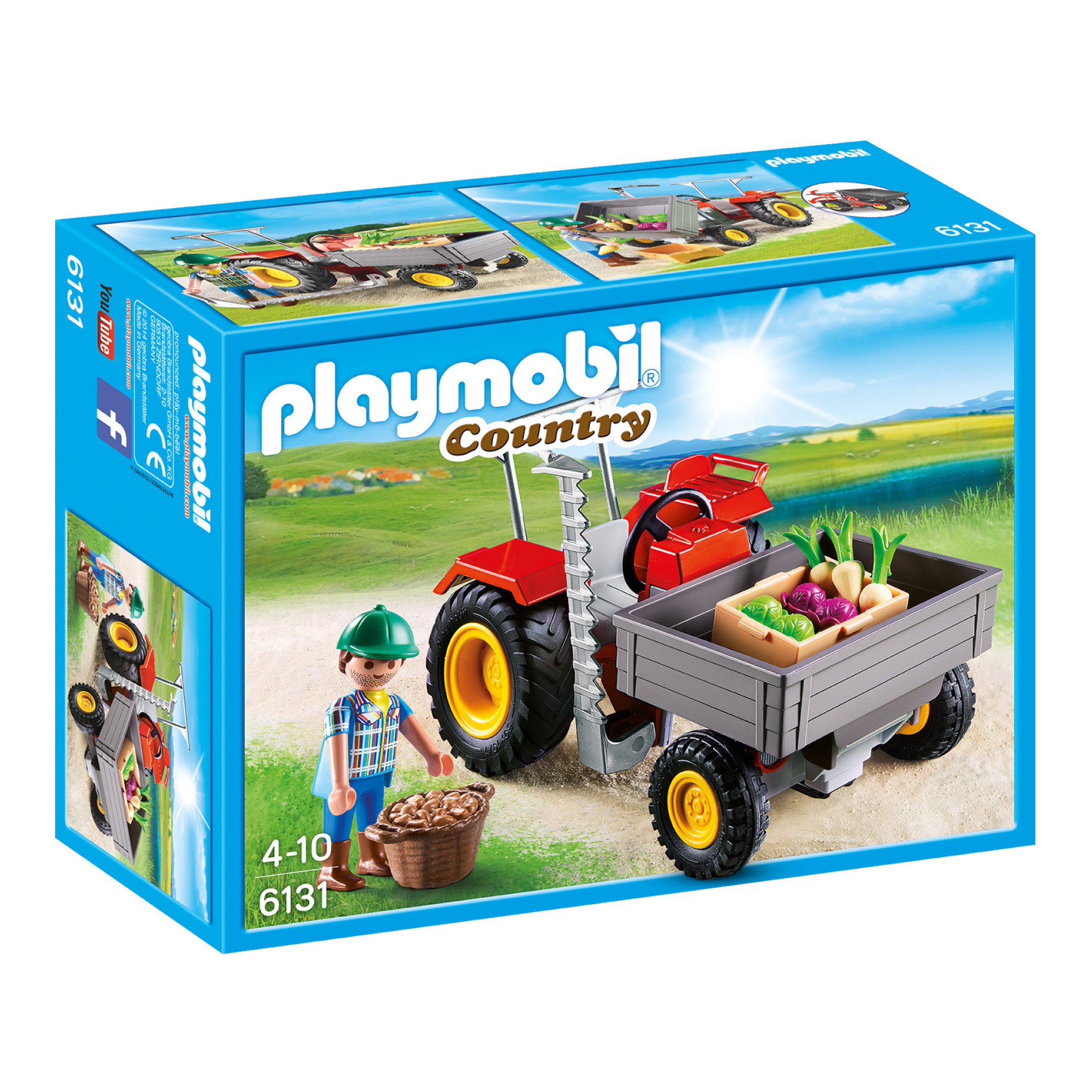 Playmobil Harvesting Tractor 6131