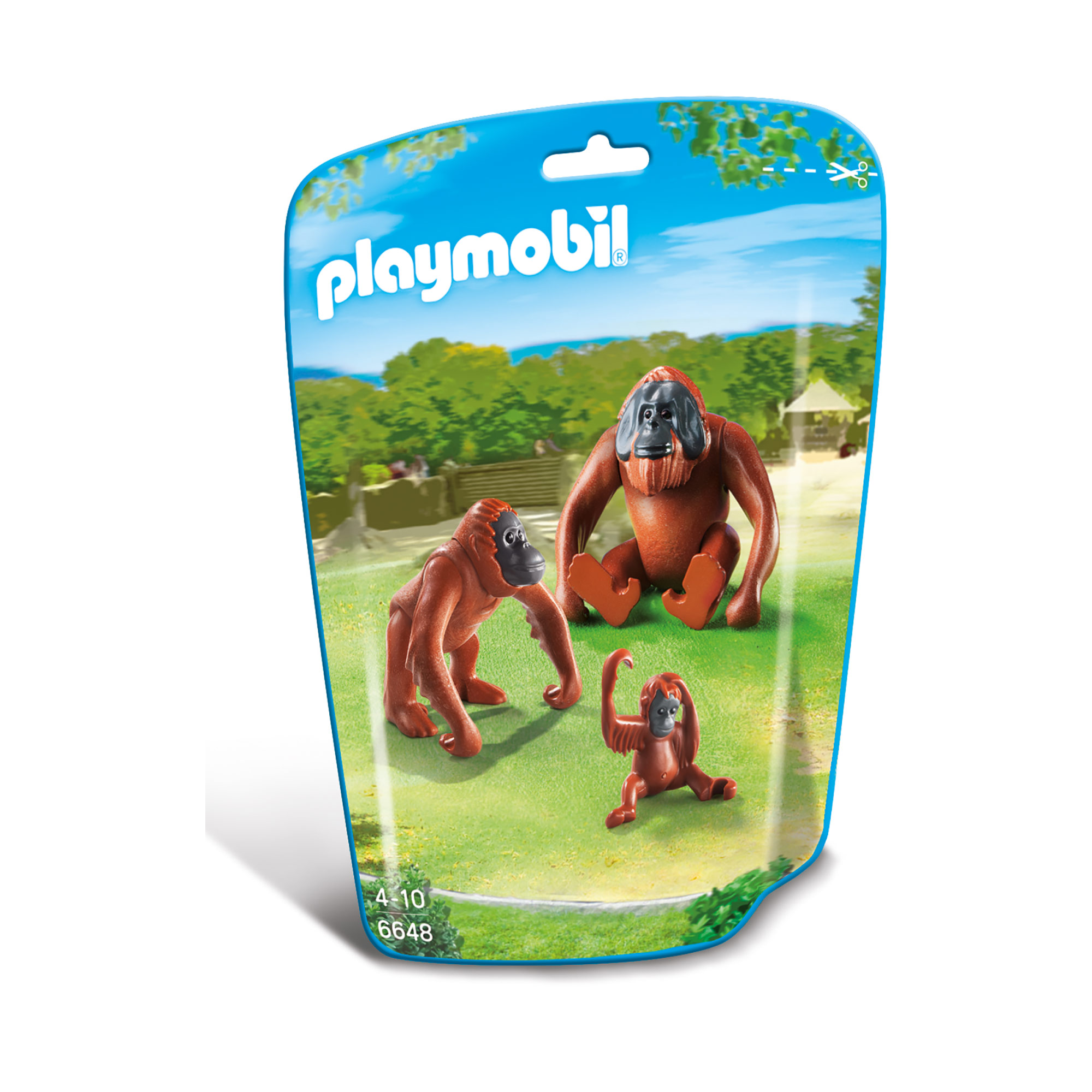 Playmobil Wildlife Orangutan Family 6648