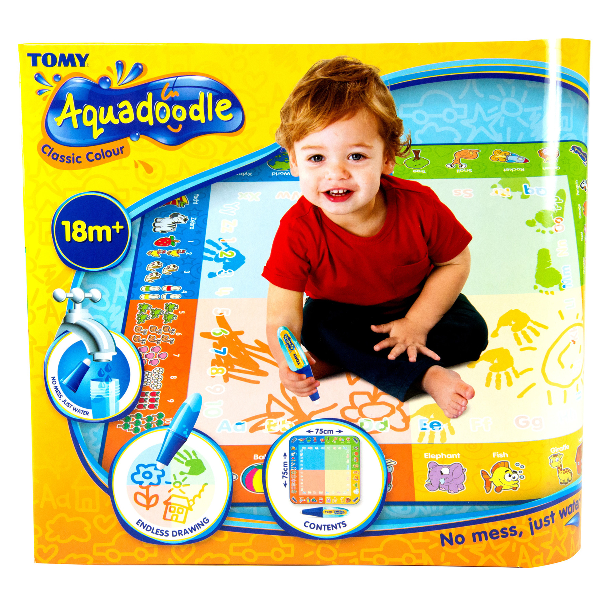 Aquadoodle Classic Colour Drawing Mat