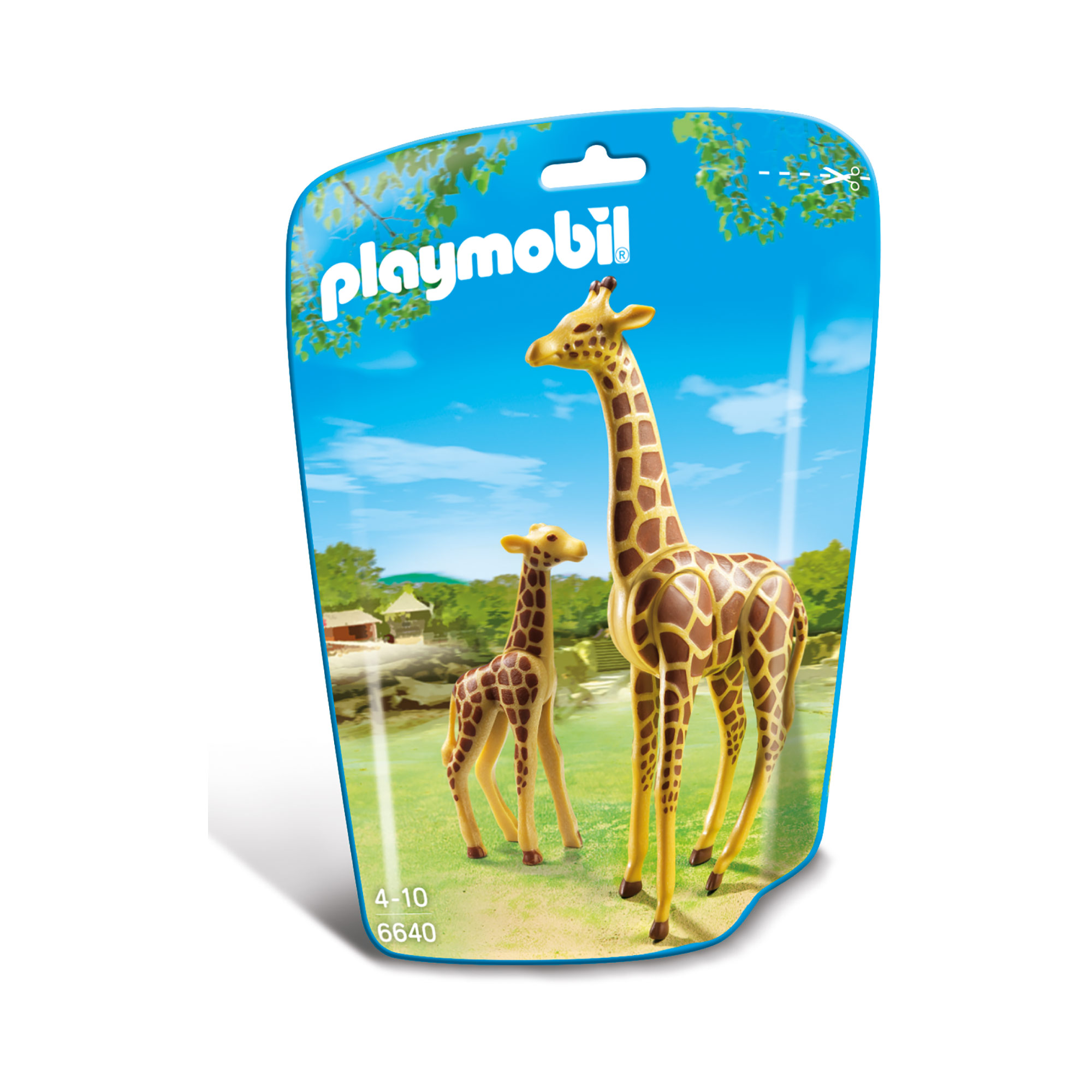 Playmobil Wildlife Giraffe With Calf 6640