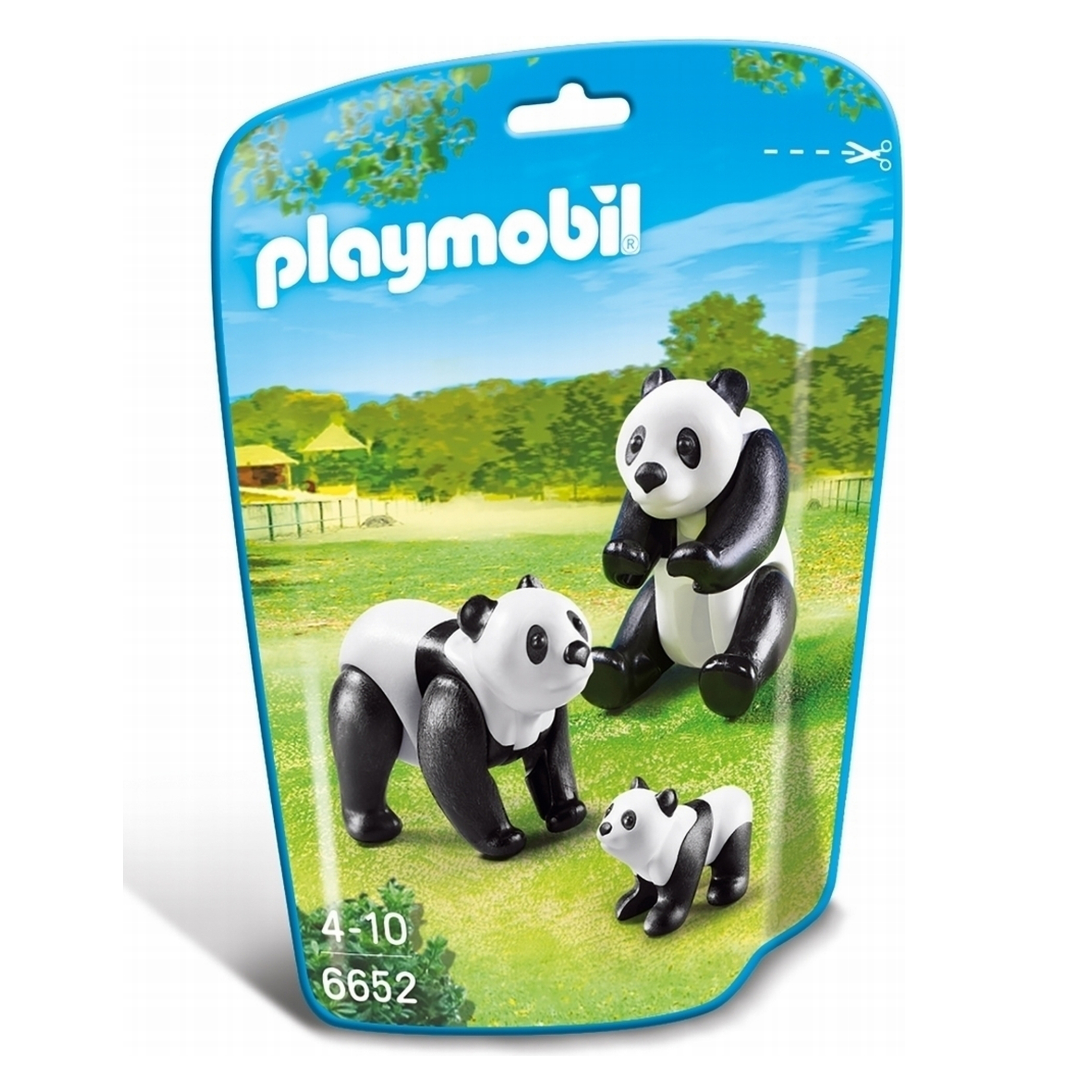 Playmobil Wildlife Panda Family 6652