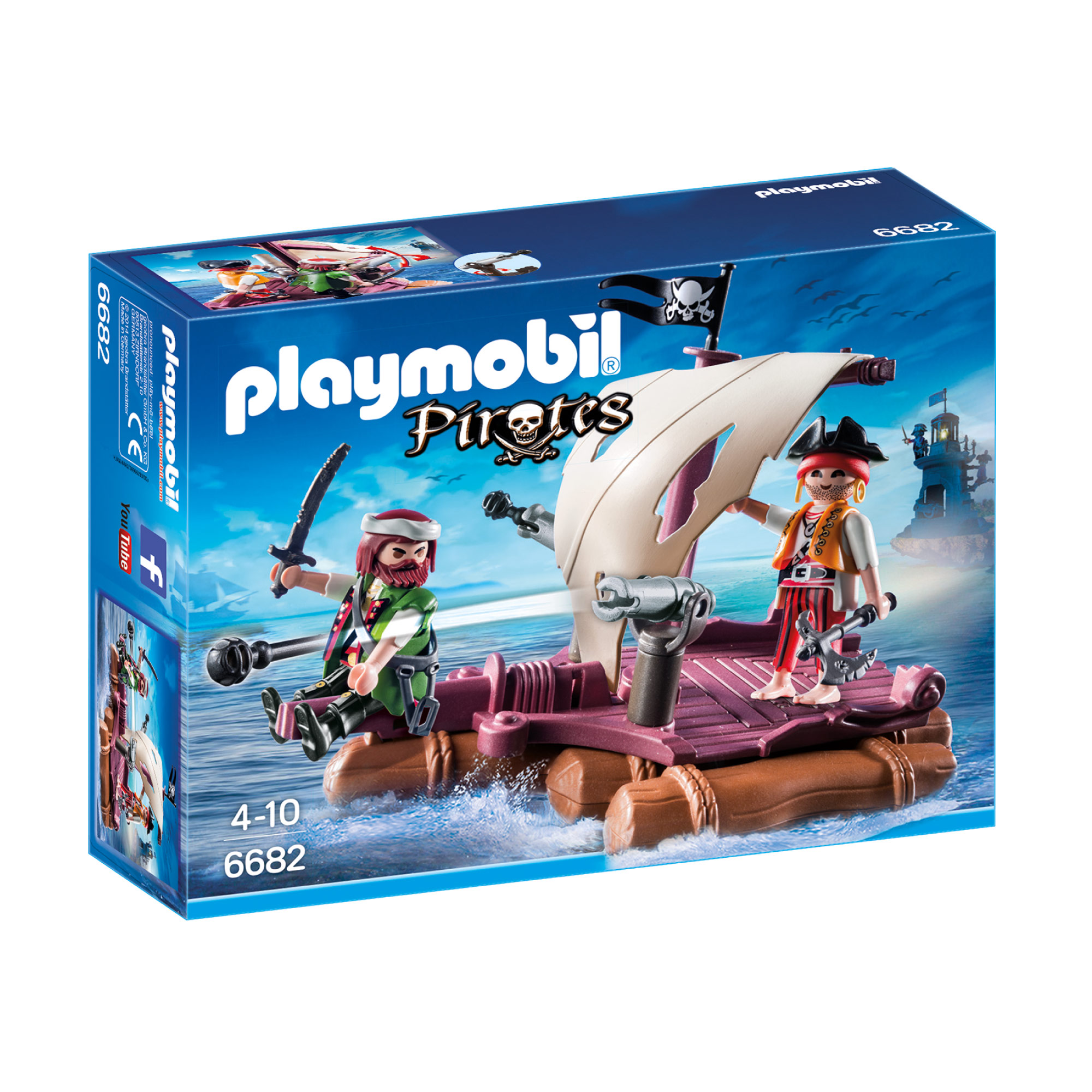 Playmobil Pirates Raft 6682