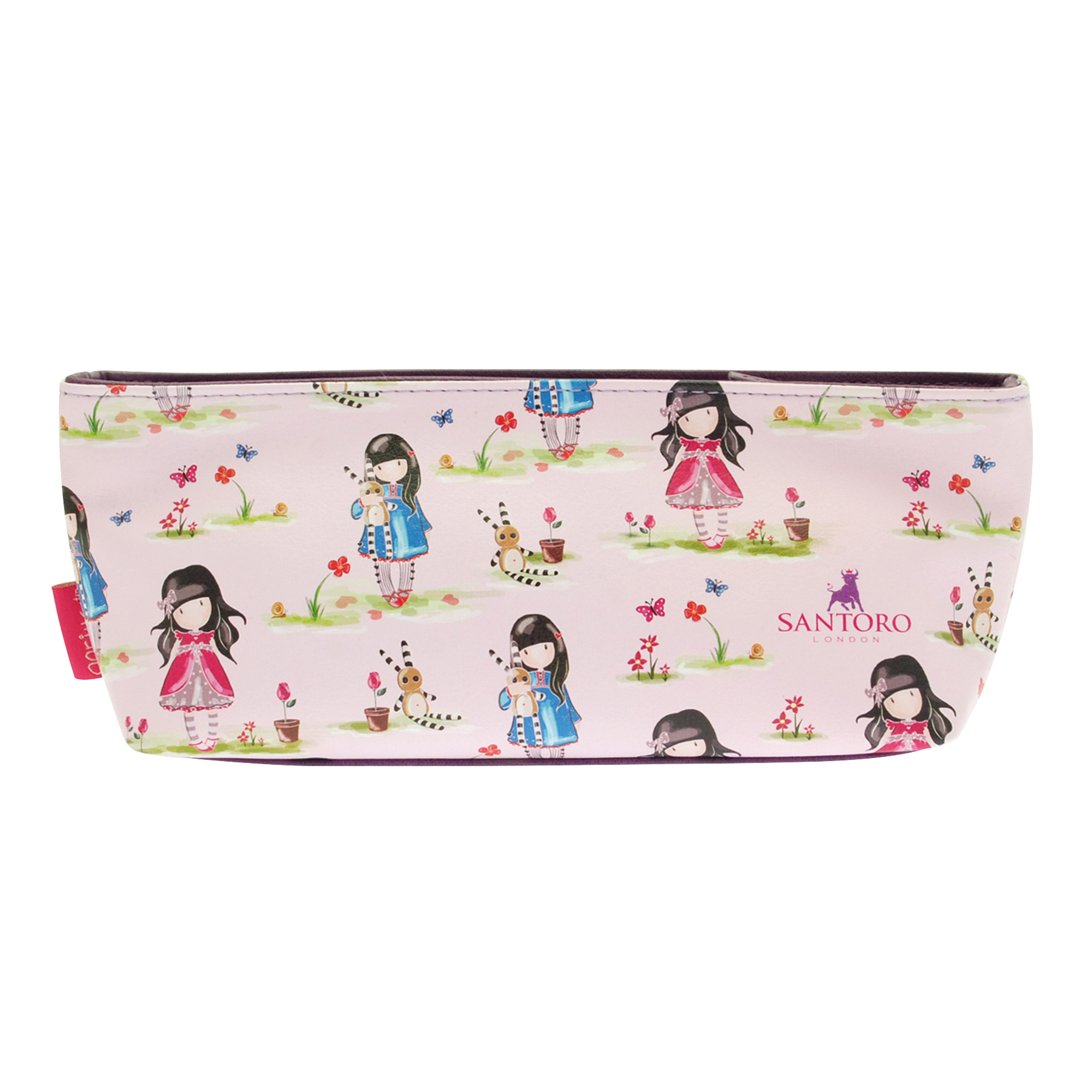 Gorjuss Pastel Pattern Ladybird Accessory Case