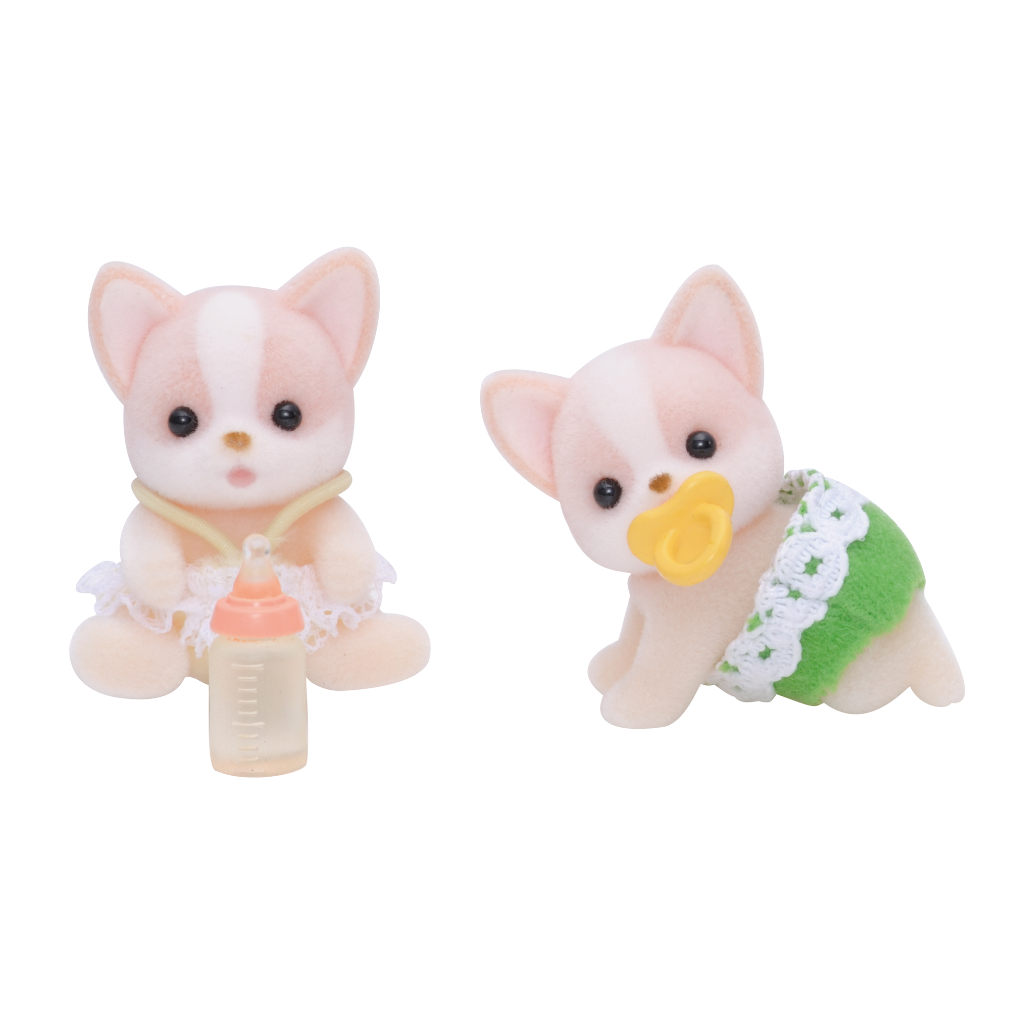 Sylvanian Families Baby Chihuahua Dog Twins