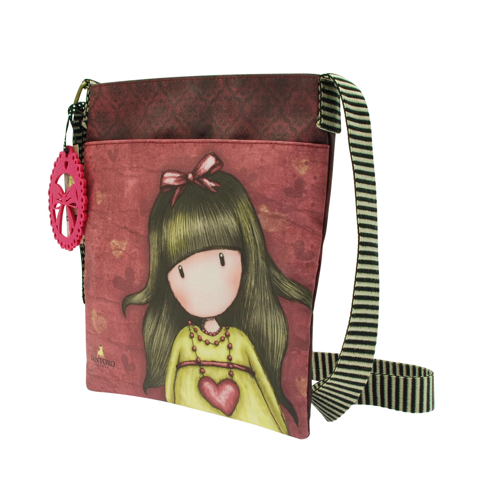 Gorjuss Heartfelt Flat Cross Body Bag