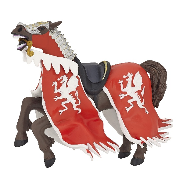 Papo Red Dragon King Horse
