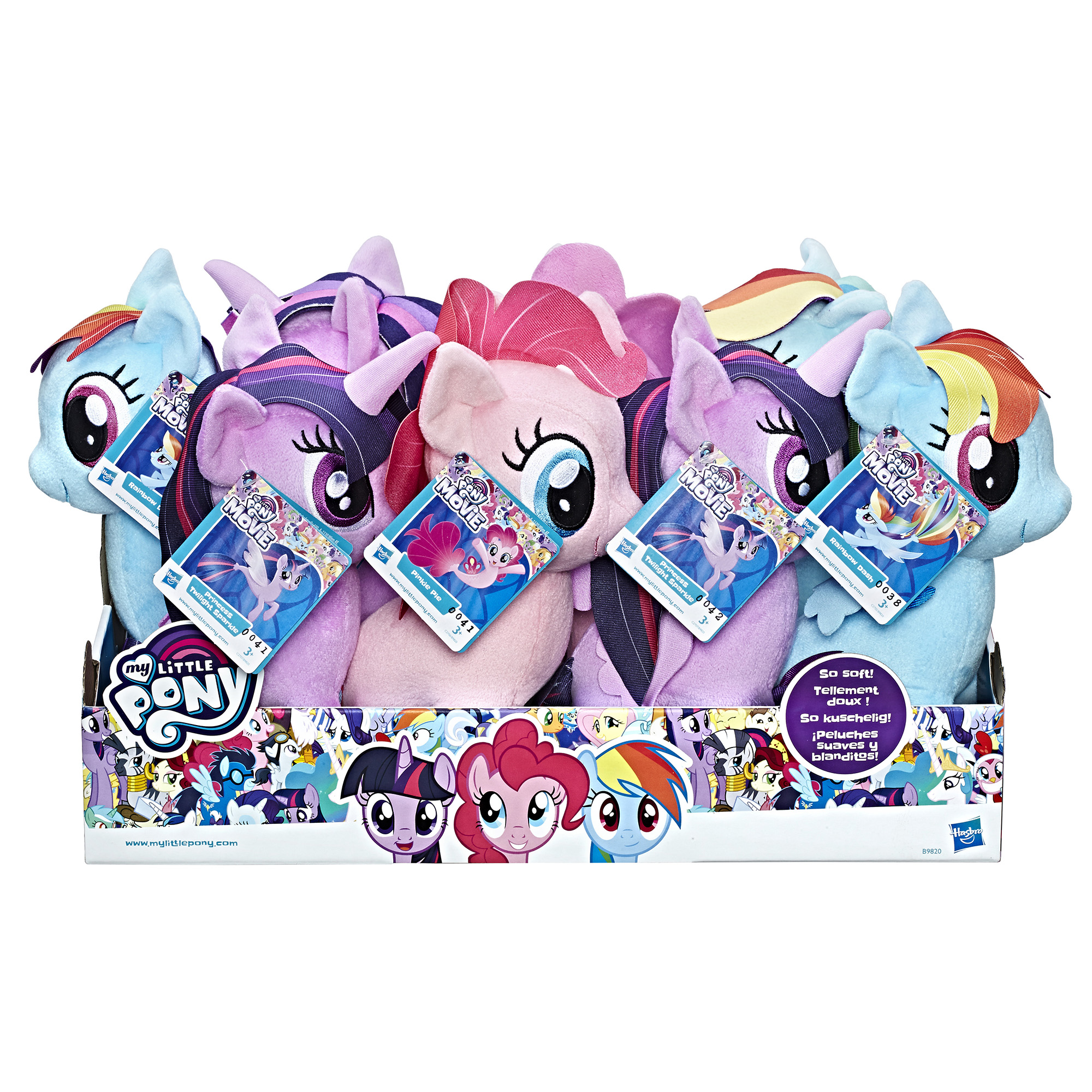 My Little Pony Soft Toy Assortment