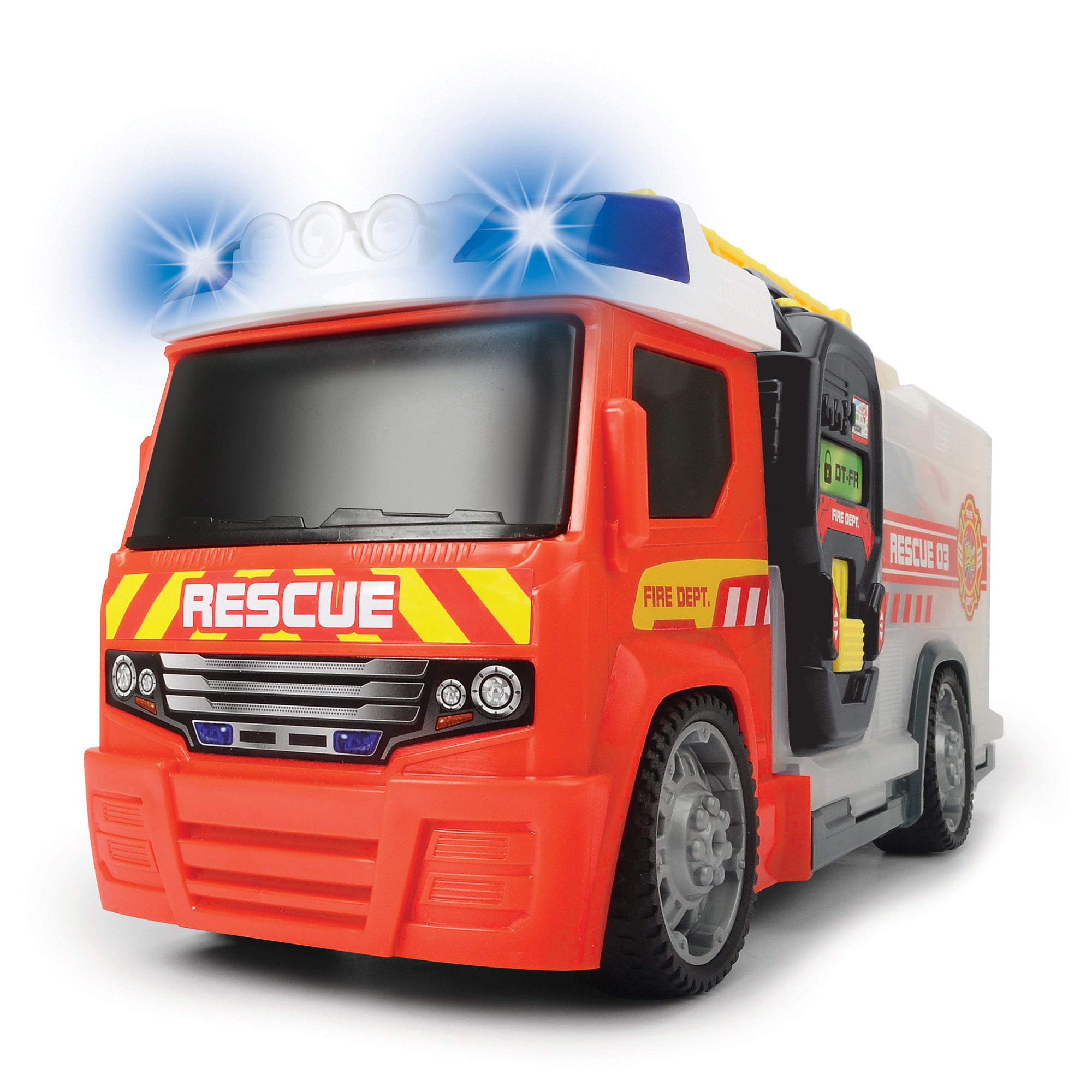 Driving Force Push & Play Fire Engine