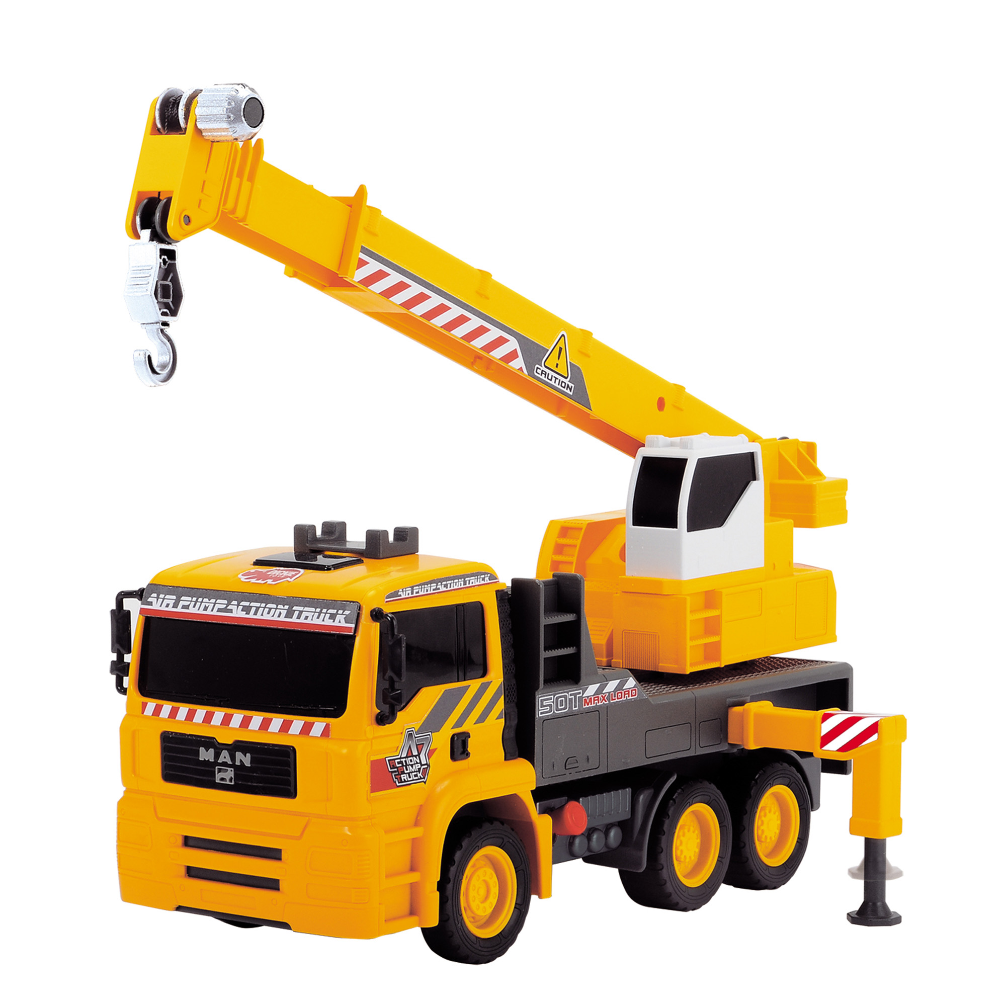 Driving Force Air Pump Mobile Crane