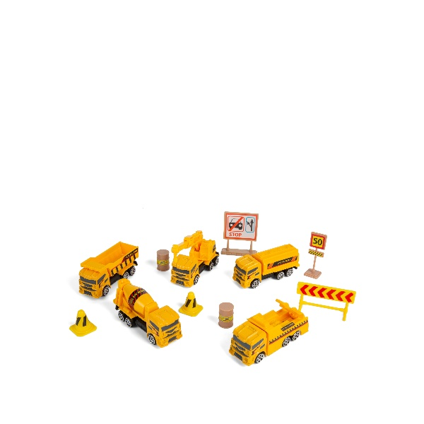 Driving Force Construction Vehicle Playset
