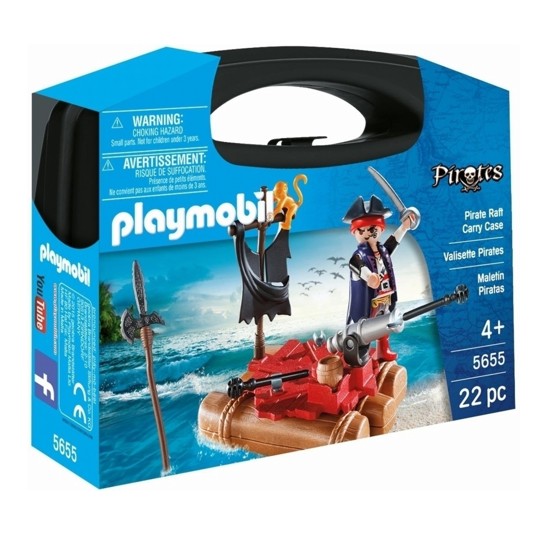 Playmobil Small Pirates Carry Case 5655