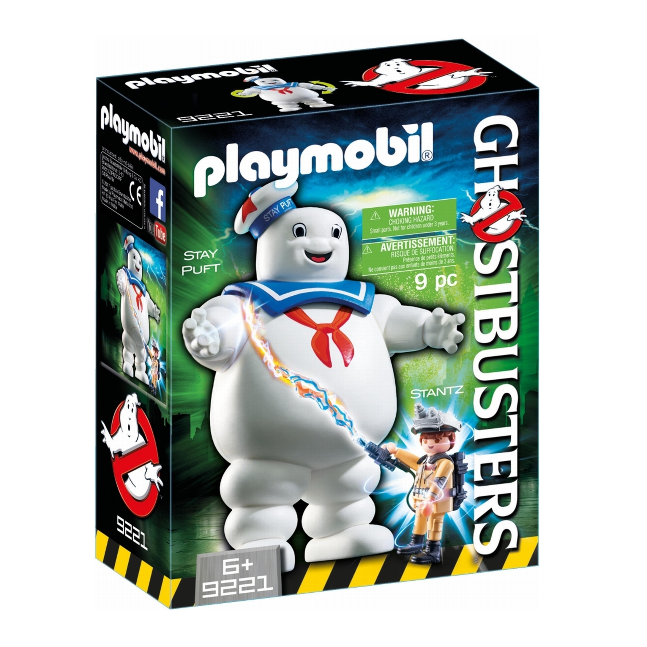Playmobil Ghostbusters Marshmallow Man 9221