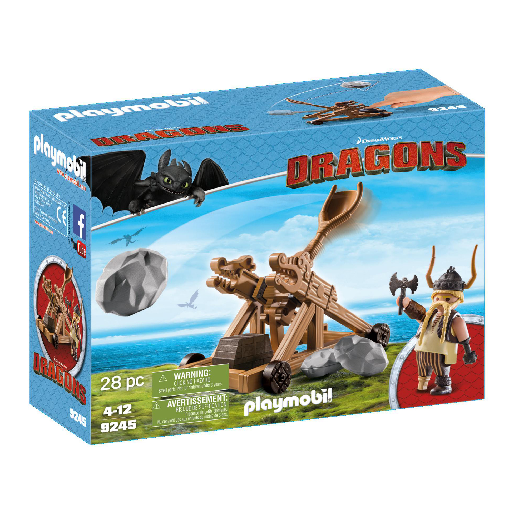 Playmobil Dreamworks Dragons Gobber 9245
