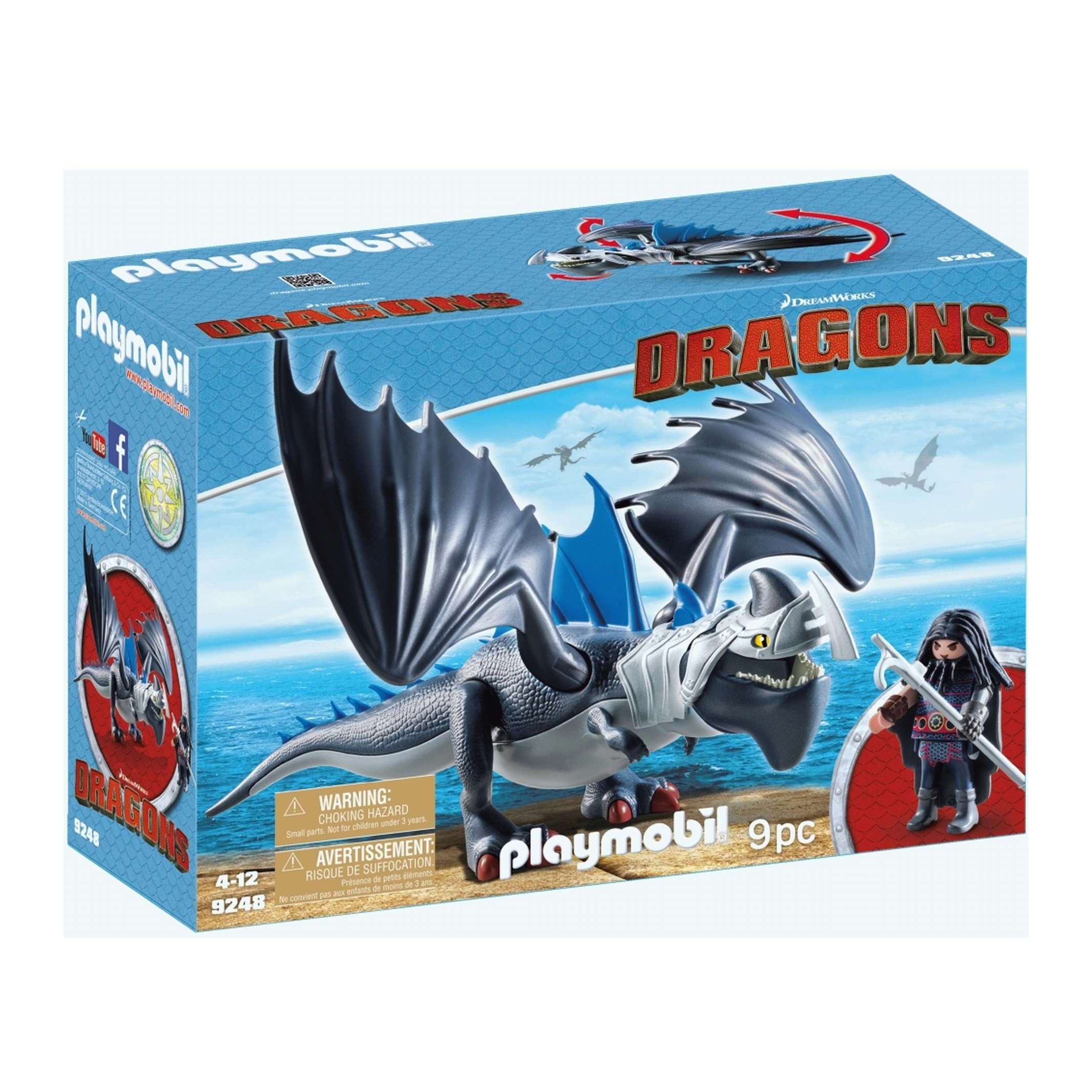 Playmobil Dreamworks Dragons Drago & Thunderclaw 9248