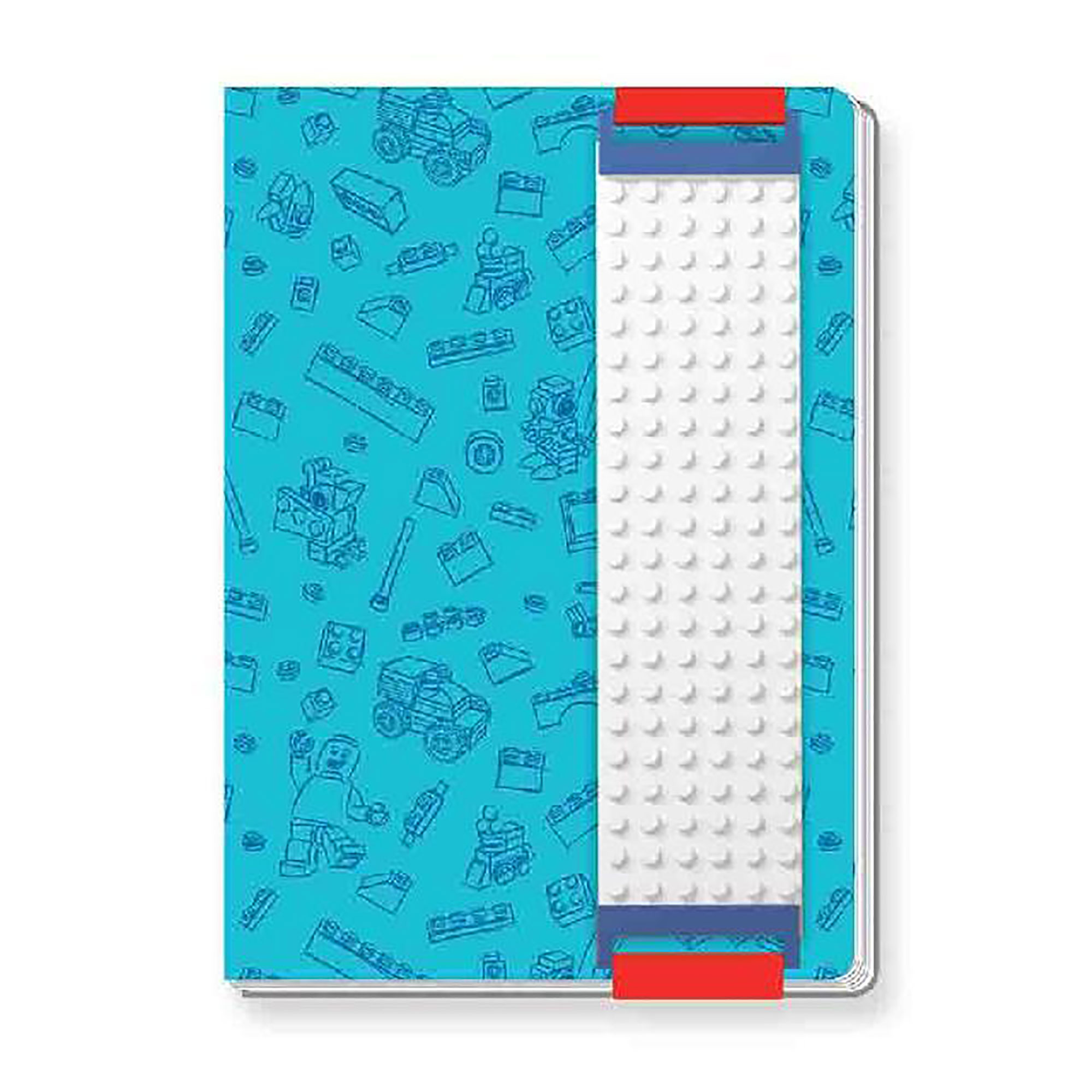 LEGO Blue Diary With Binder Sleeve