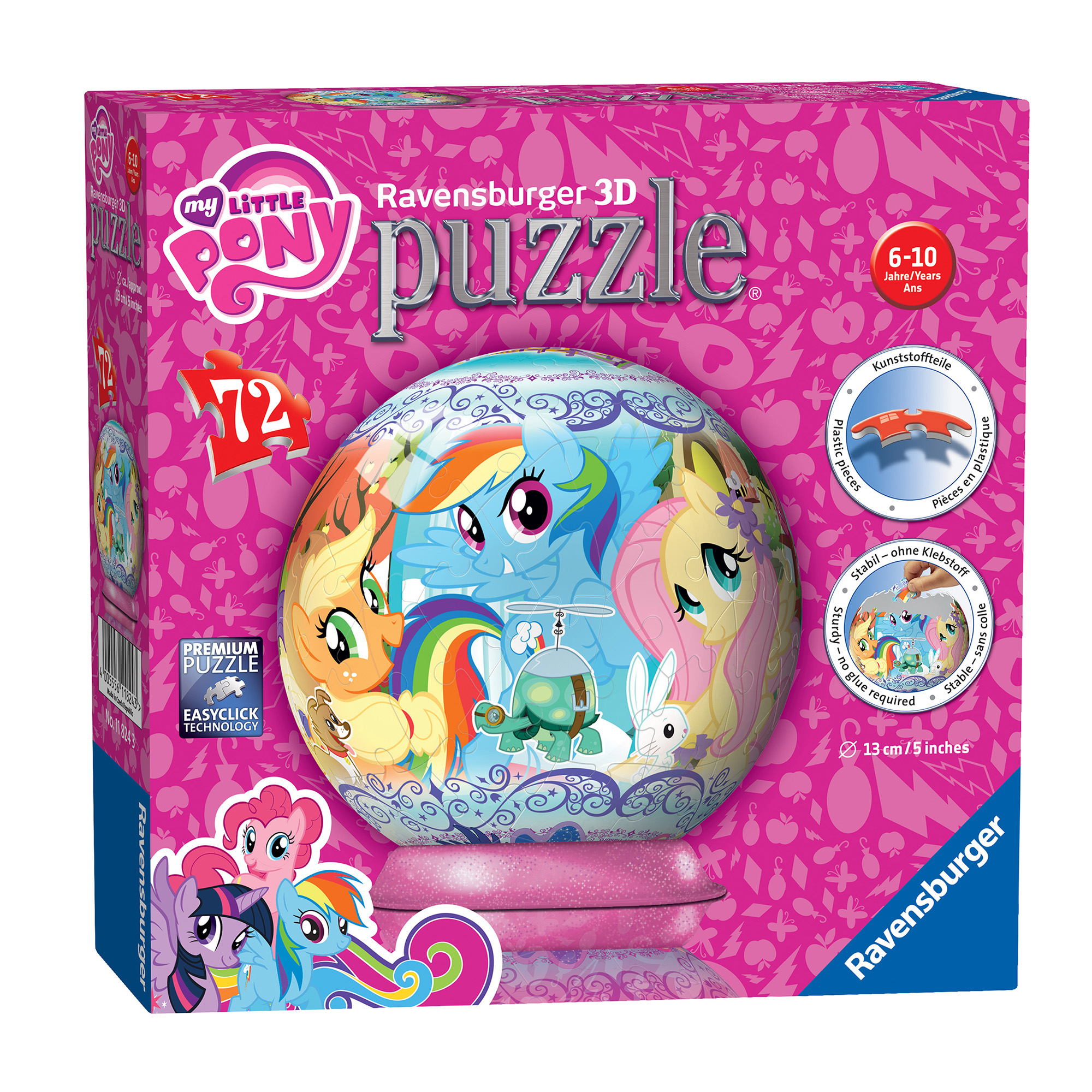 Ravensburger My Little Pony 72 Piece 3D Puzzle