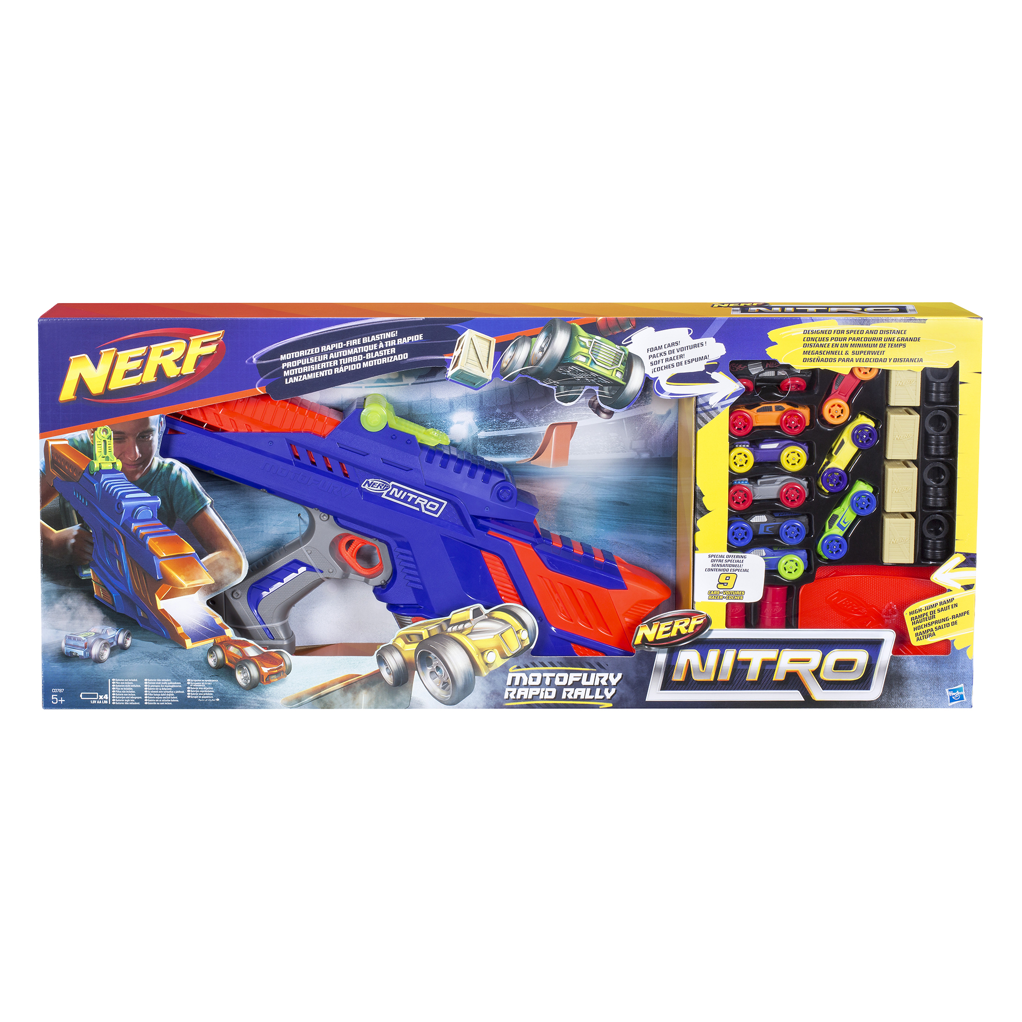 Nerf Nitro MotorFury Rapid Rally Set