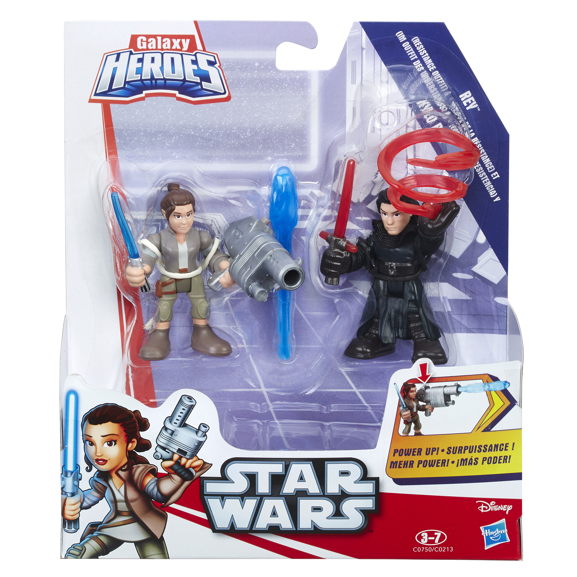 Star Wars Galactic Heroes Power Up 2 Pack Assortment