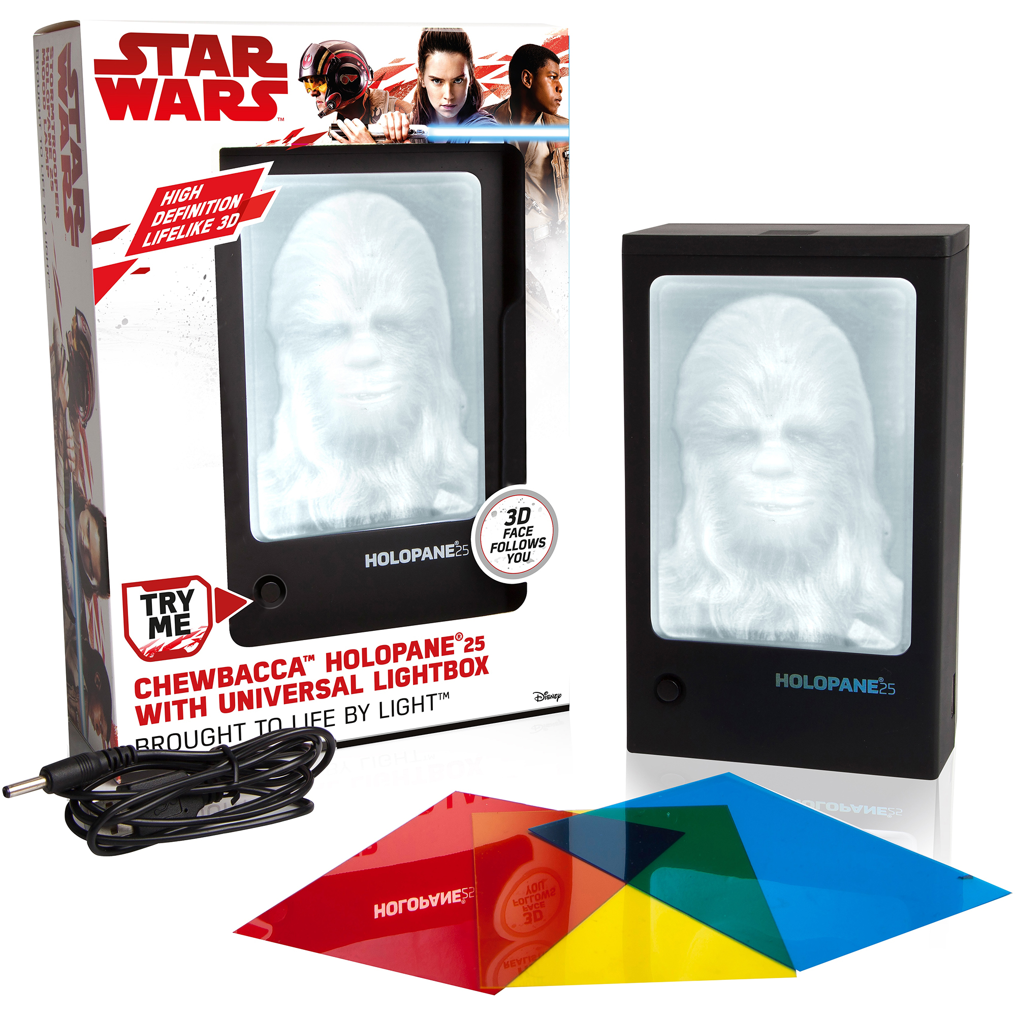 Star Wars Chewbacca Holopane