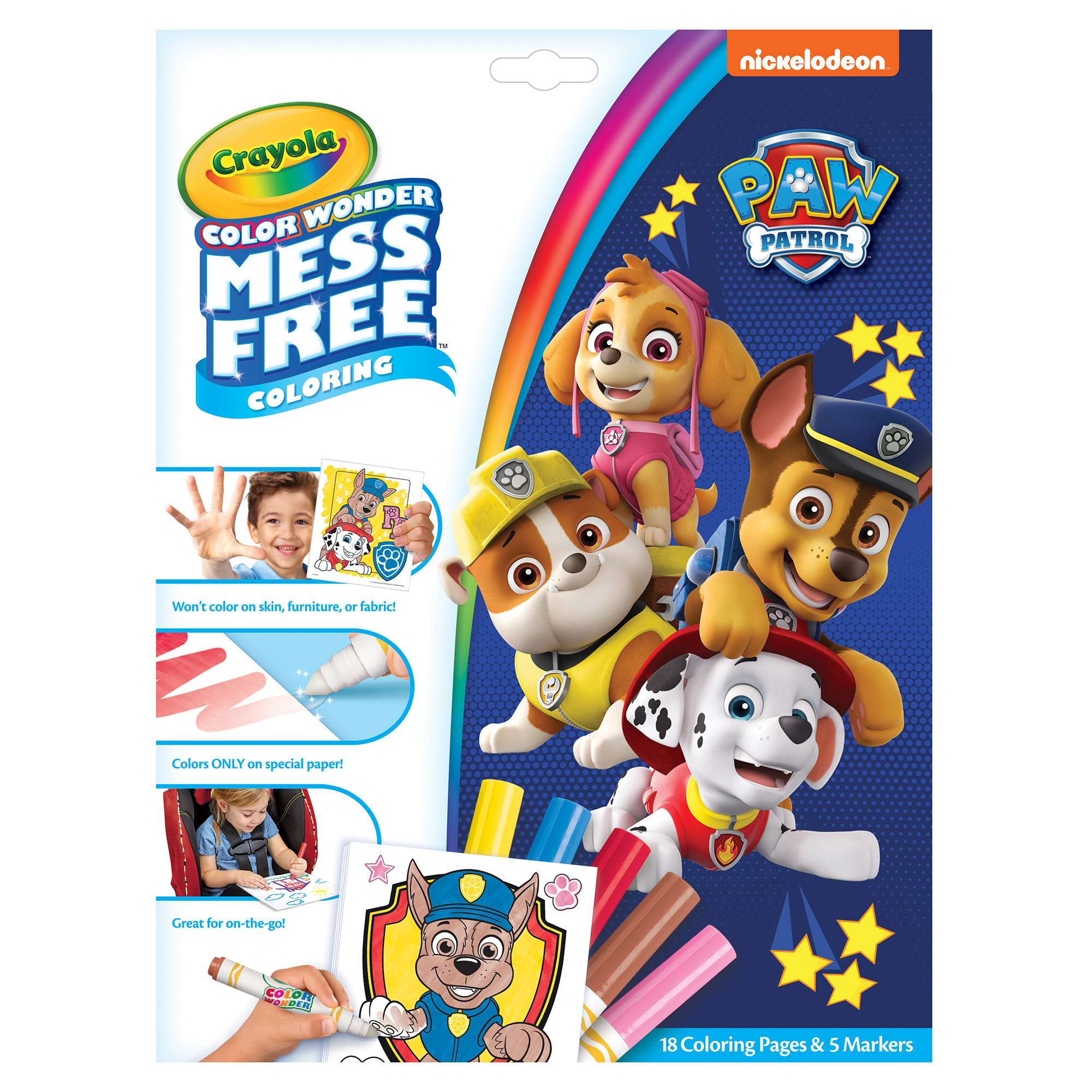 Paw Patrol Colour Wonder Kit