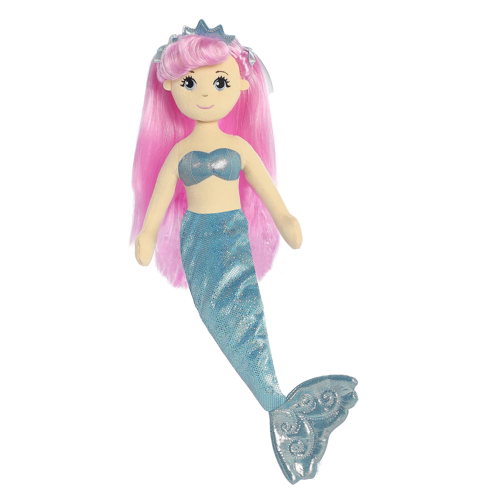 Sea Shimmers 10-inch Crystal Mermaid