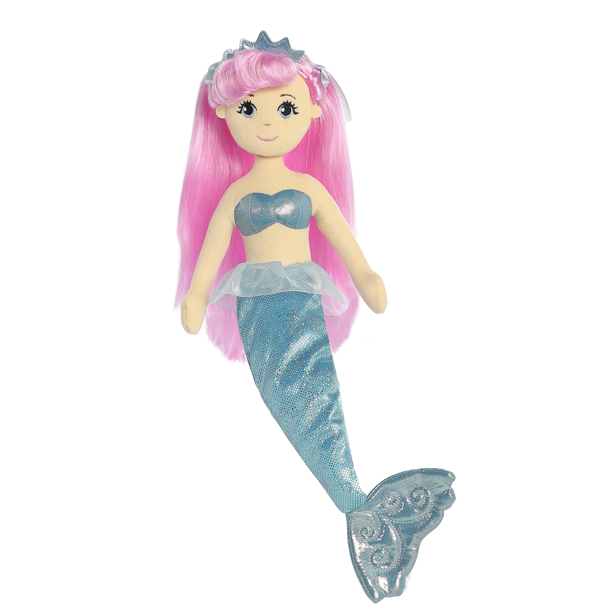 Sea Shimmers 18-inch Crystal Mermaid