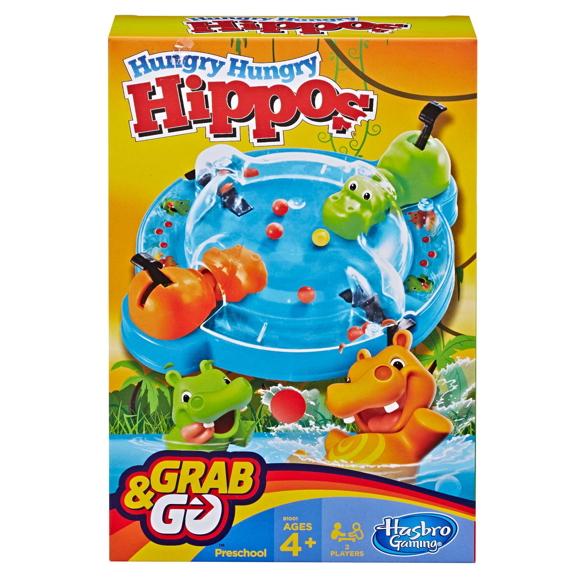 Hungry Hungry Hippos Grab & Go Game