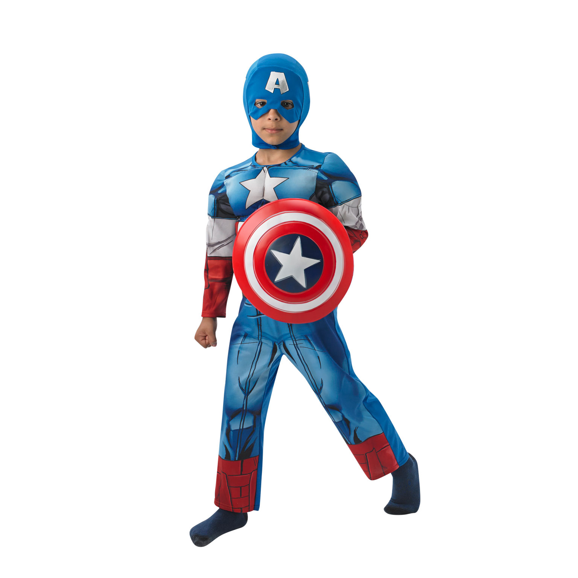 Marvel Avengers Large Captain America Costume