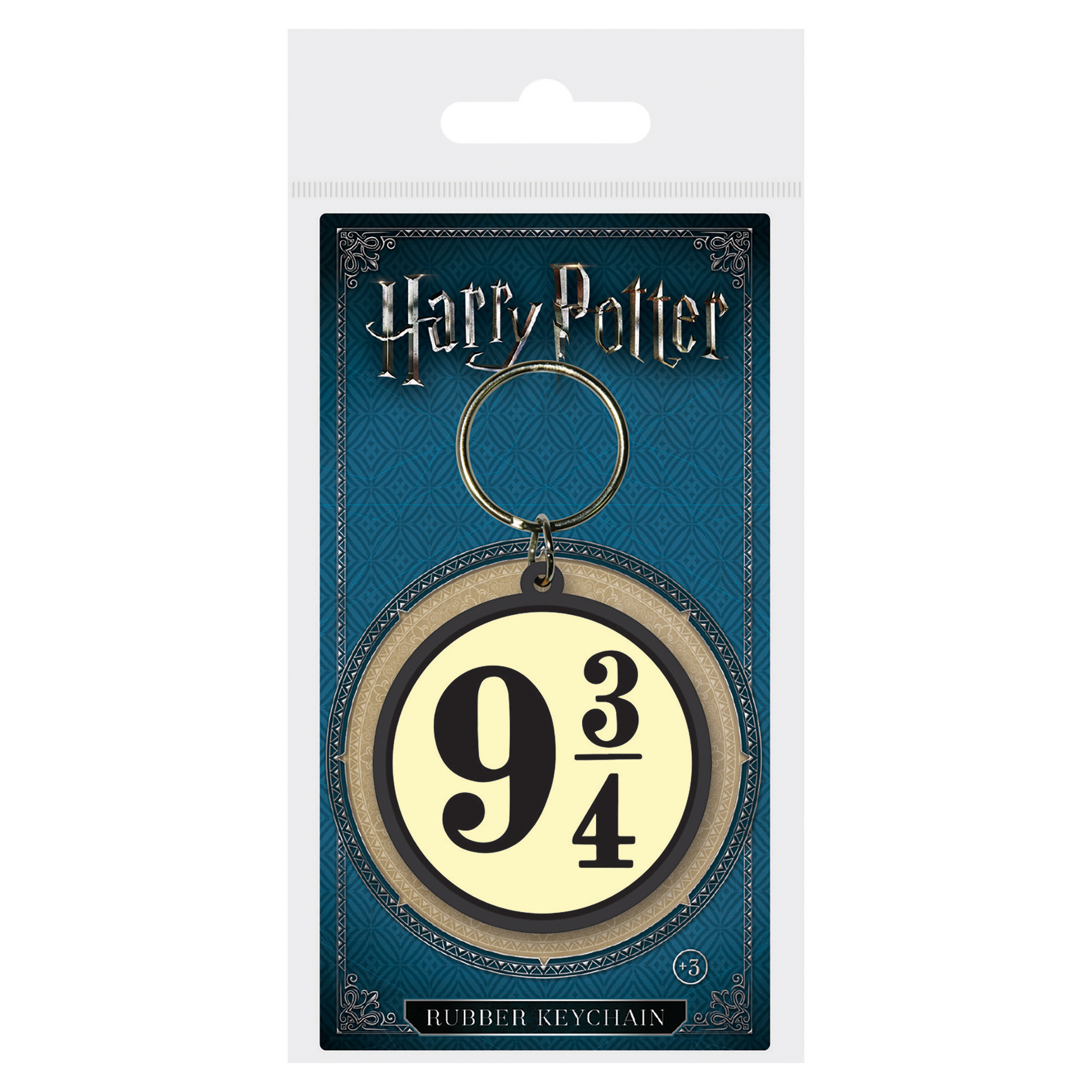 Harry Potter 9 3/4 Rubber keyring