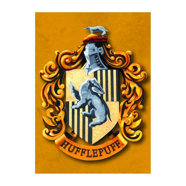 Harry Potter Hufflepuff Metal Magnet