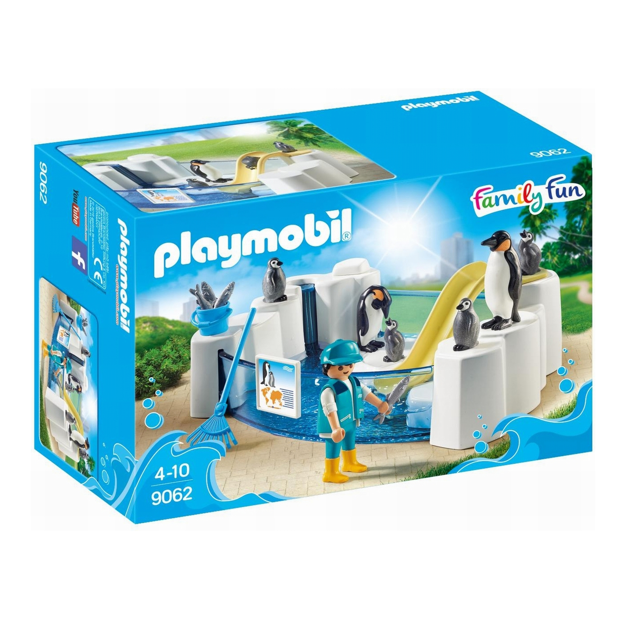 Playmobil Family Fun Penguin Enclosure 9062