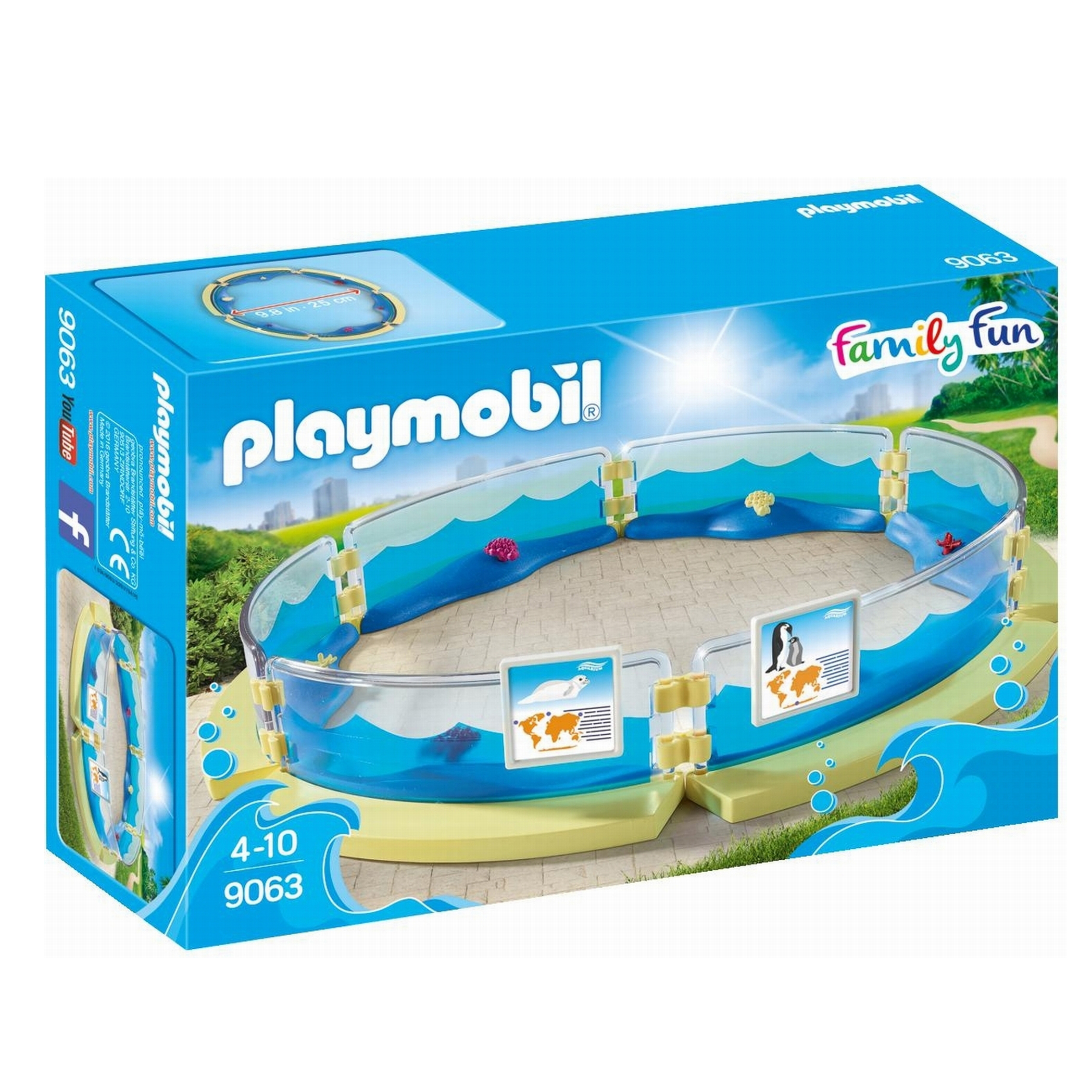 Playmobil Family Fun Aquarium Enclosure 9063