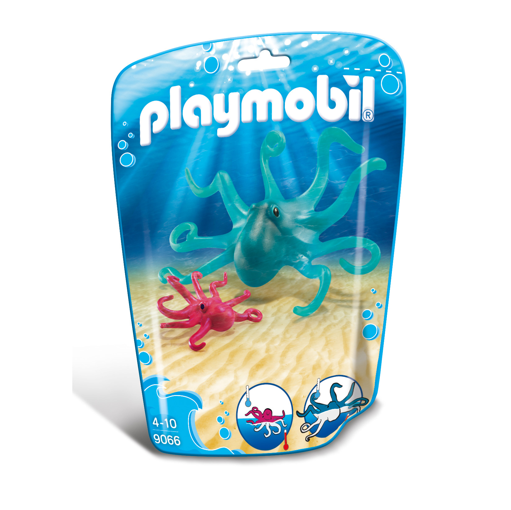 Playmobil Wildlife Octopus With Baby 9066
