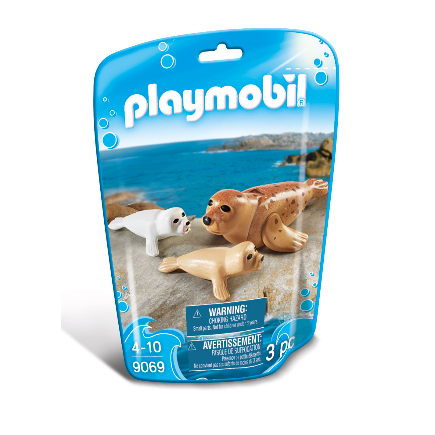 Playmobil Wildlife Seal With Pups 9069
