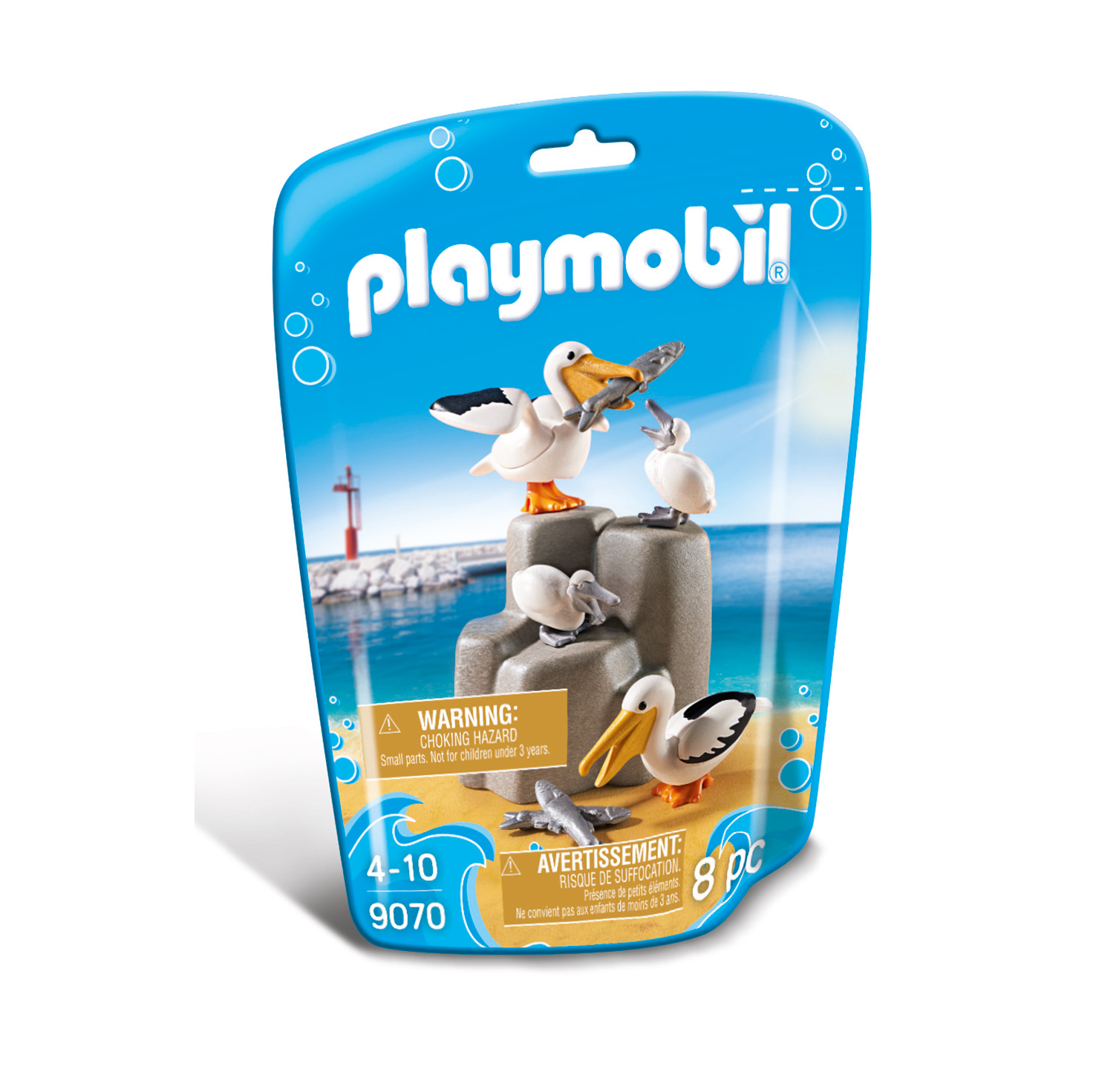 Playmobil Wildlife Pelican Family 9070