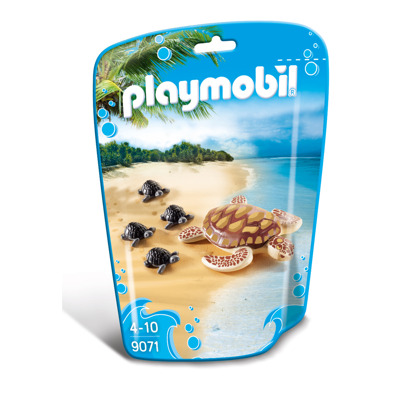 Playmobil Wildlife Sea Turtle With Babies 9071