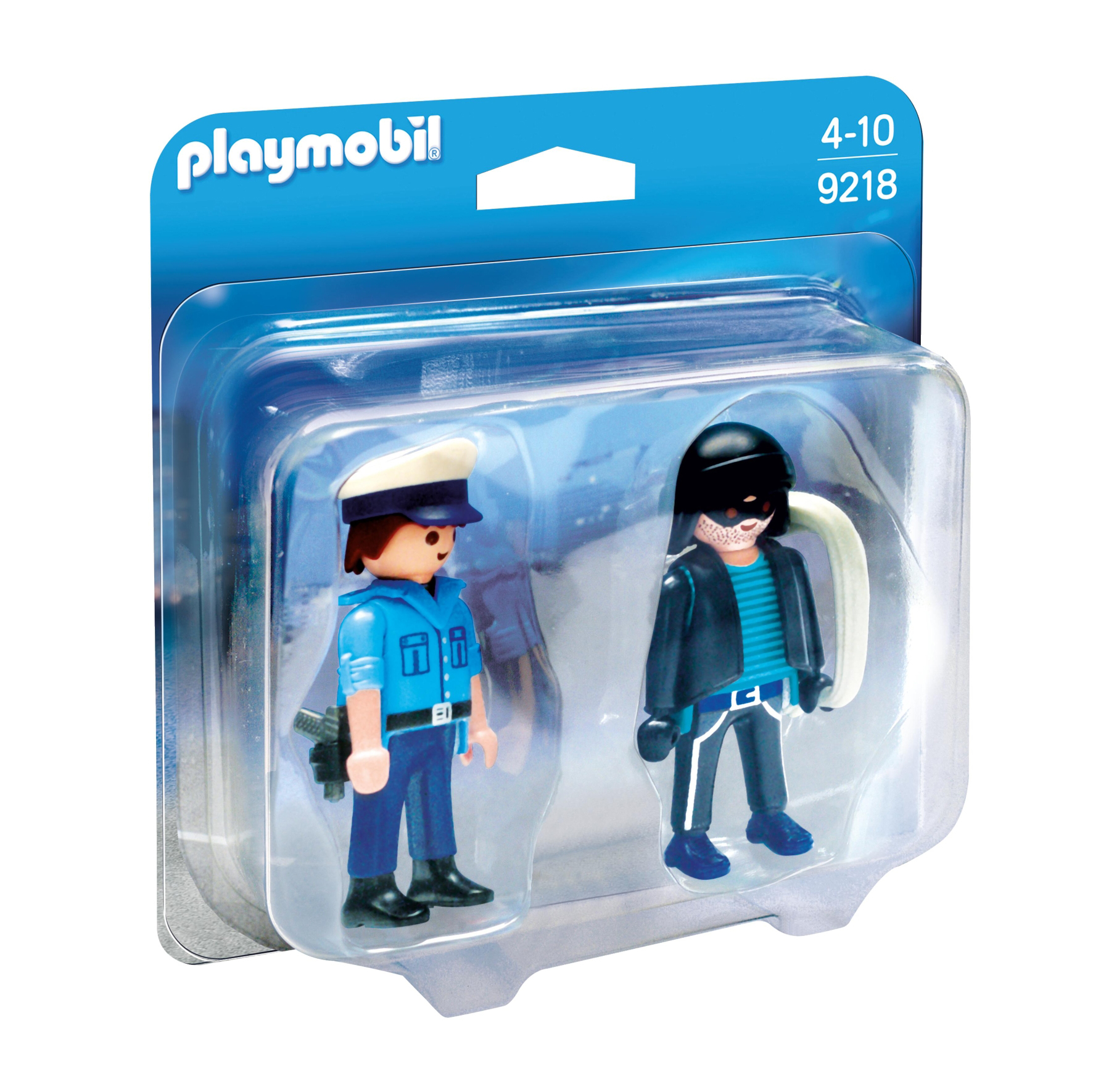 Playmobil Collectable Policeman & Burglar 9218
