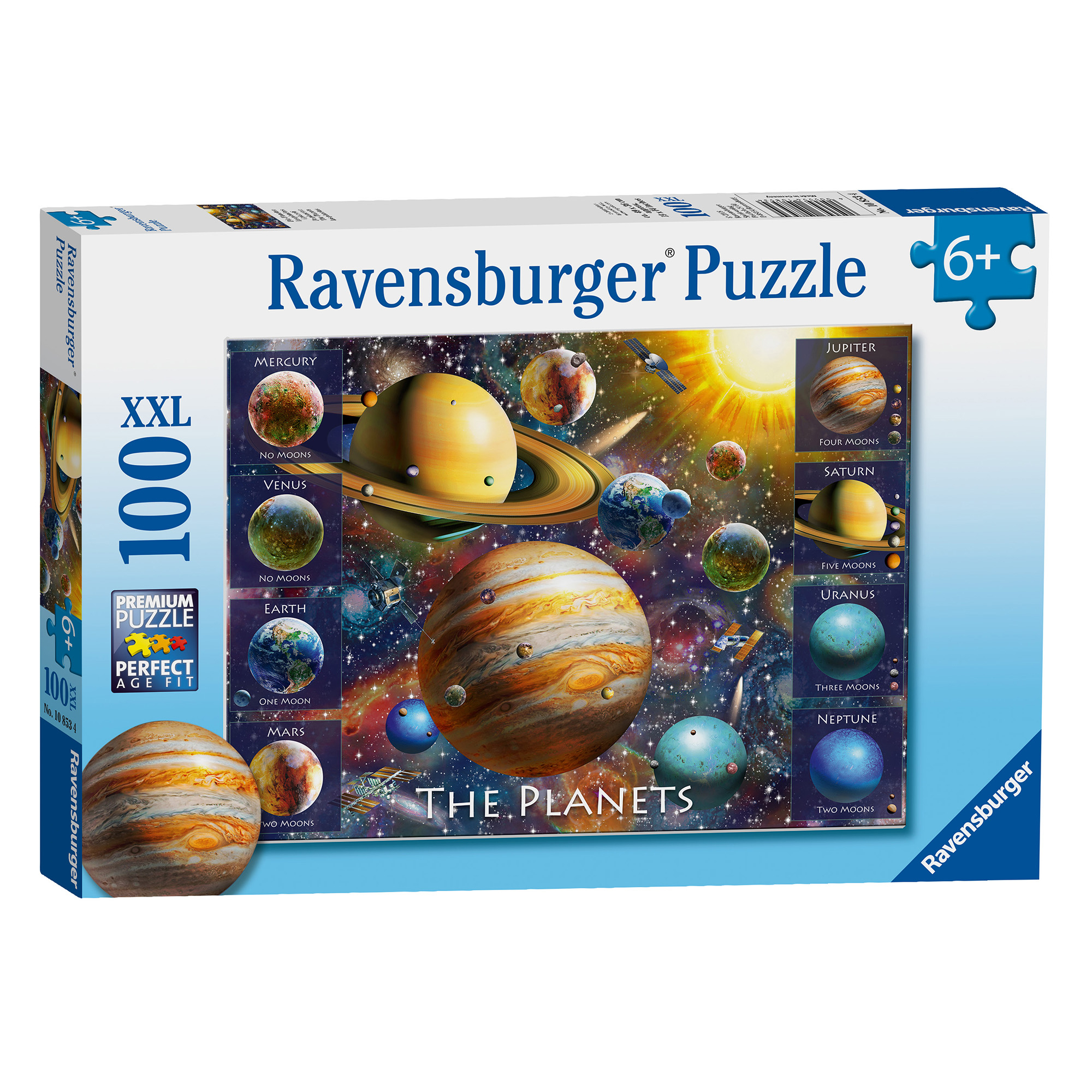 Ravensburger The Planets 100 Piece XXL Puzzle