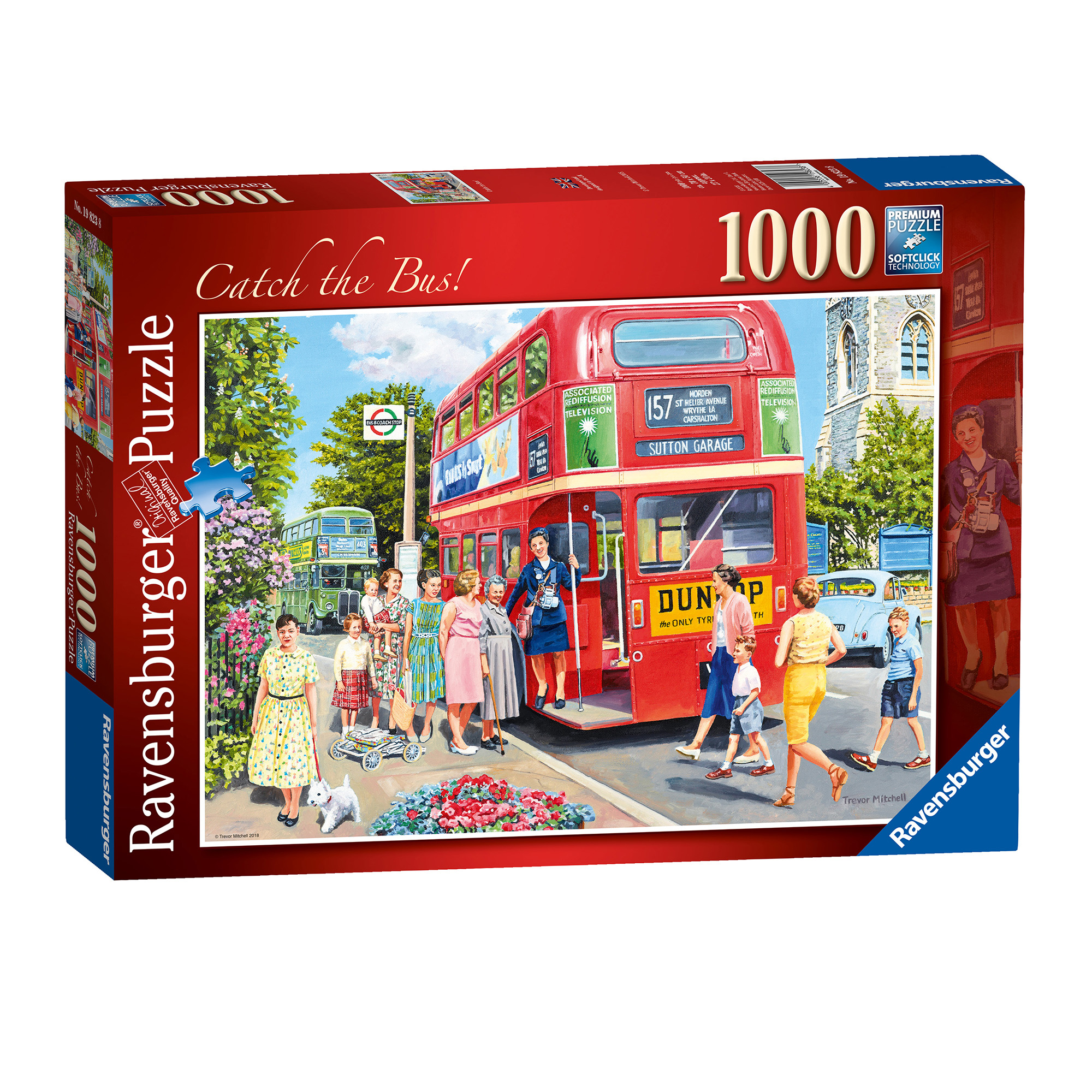 Ravensburger Catch The Bus 1000 Piece Puzzle