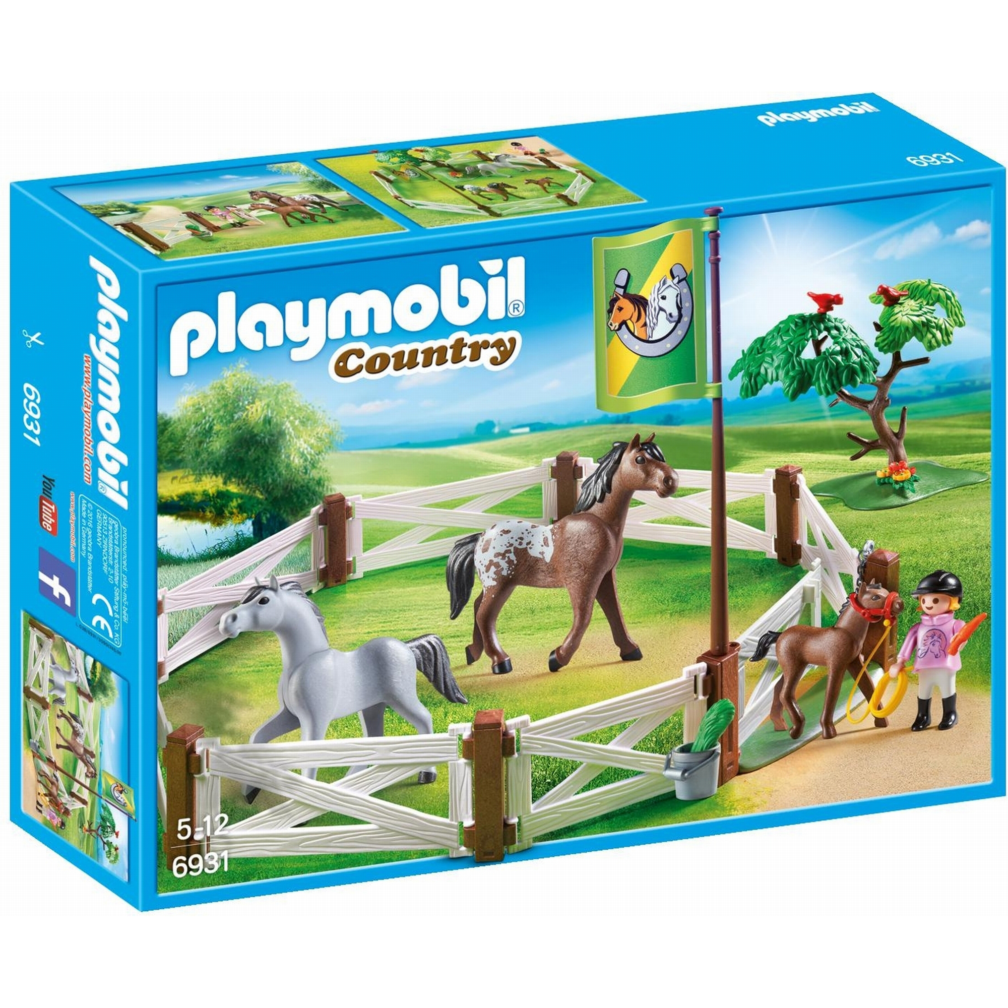Playmobil Country Horse Paddock 6931