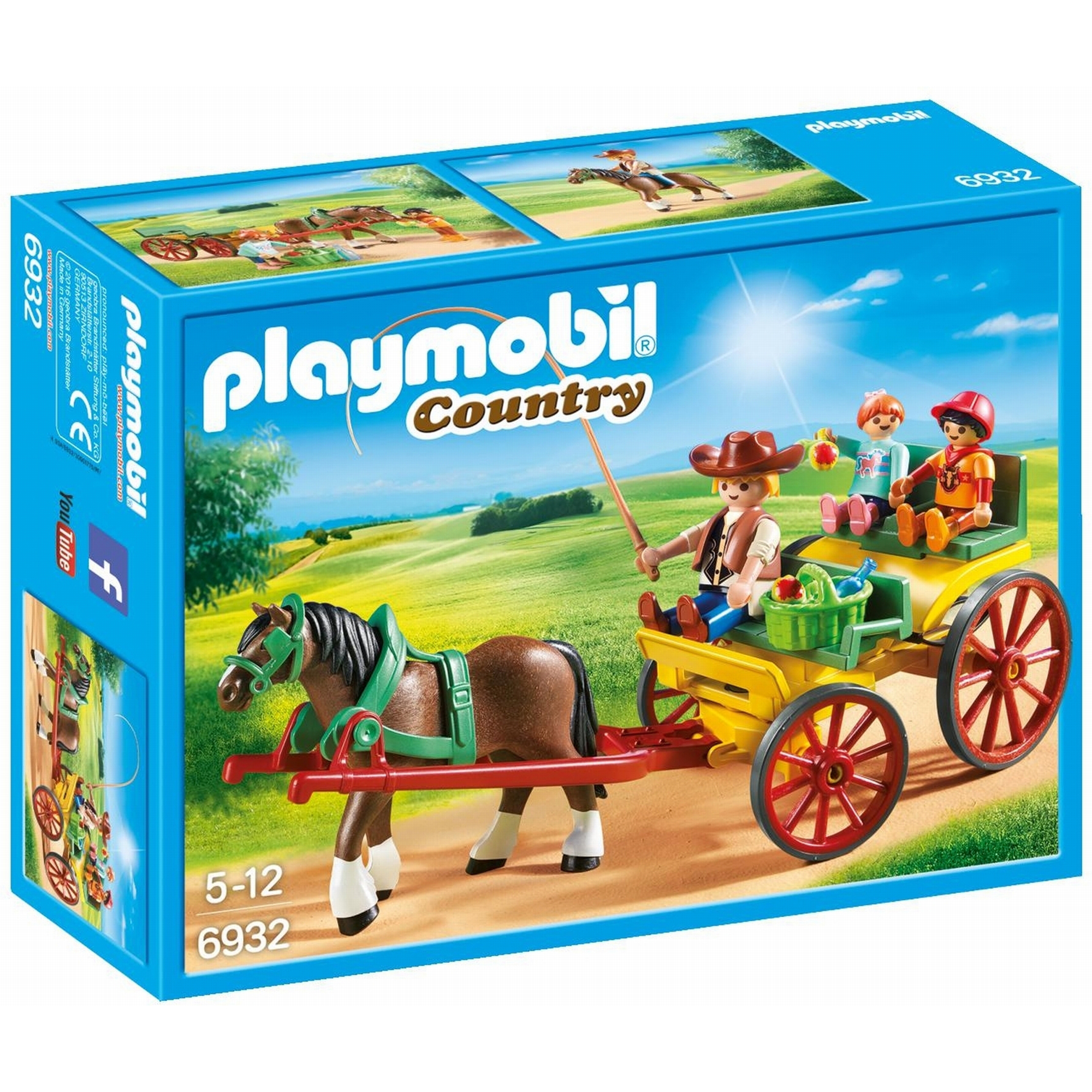 Playmobil Country Horse Drawn Wagon 6932