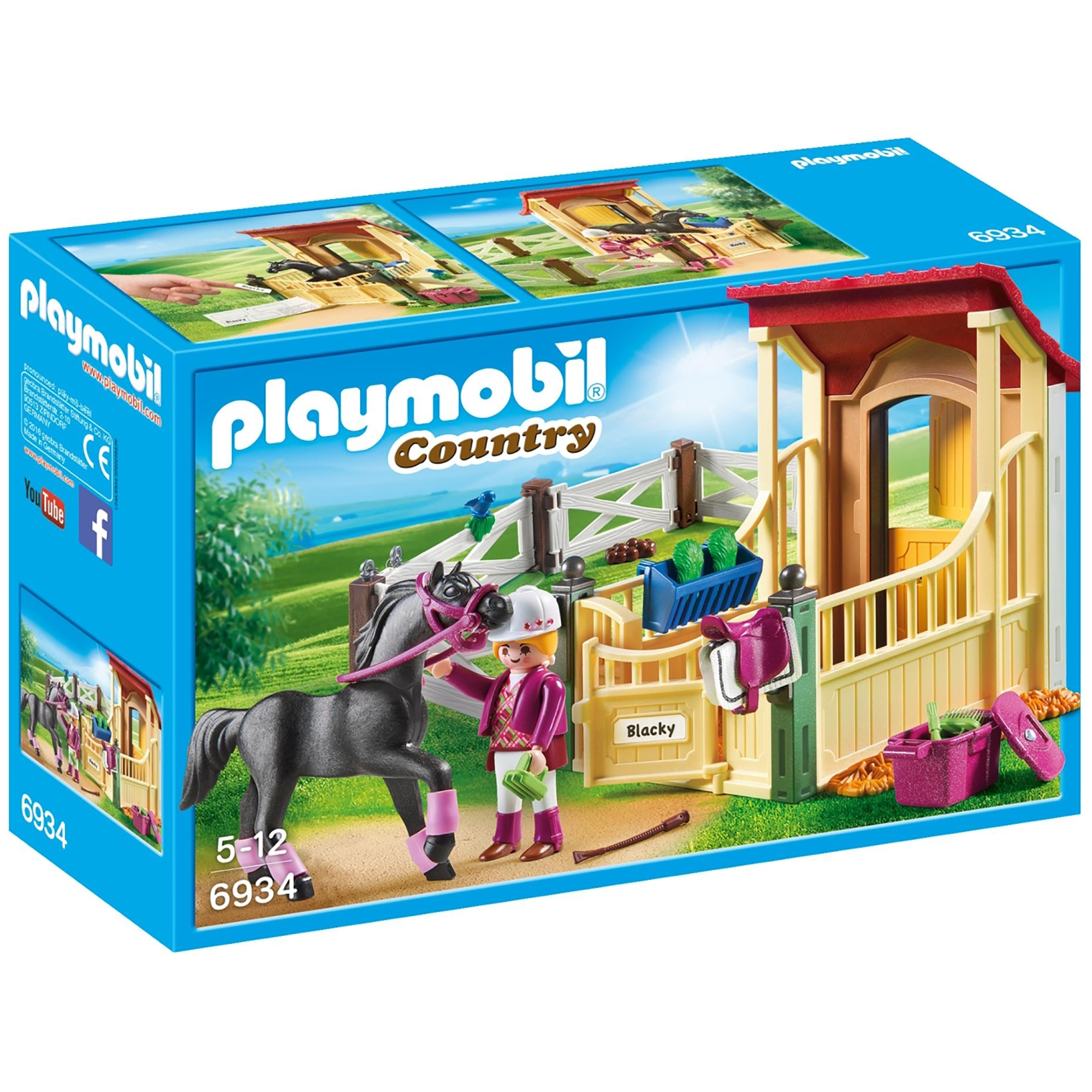 Playmobil Country Horse Stable With Araber 6934