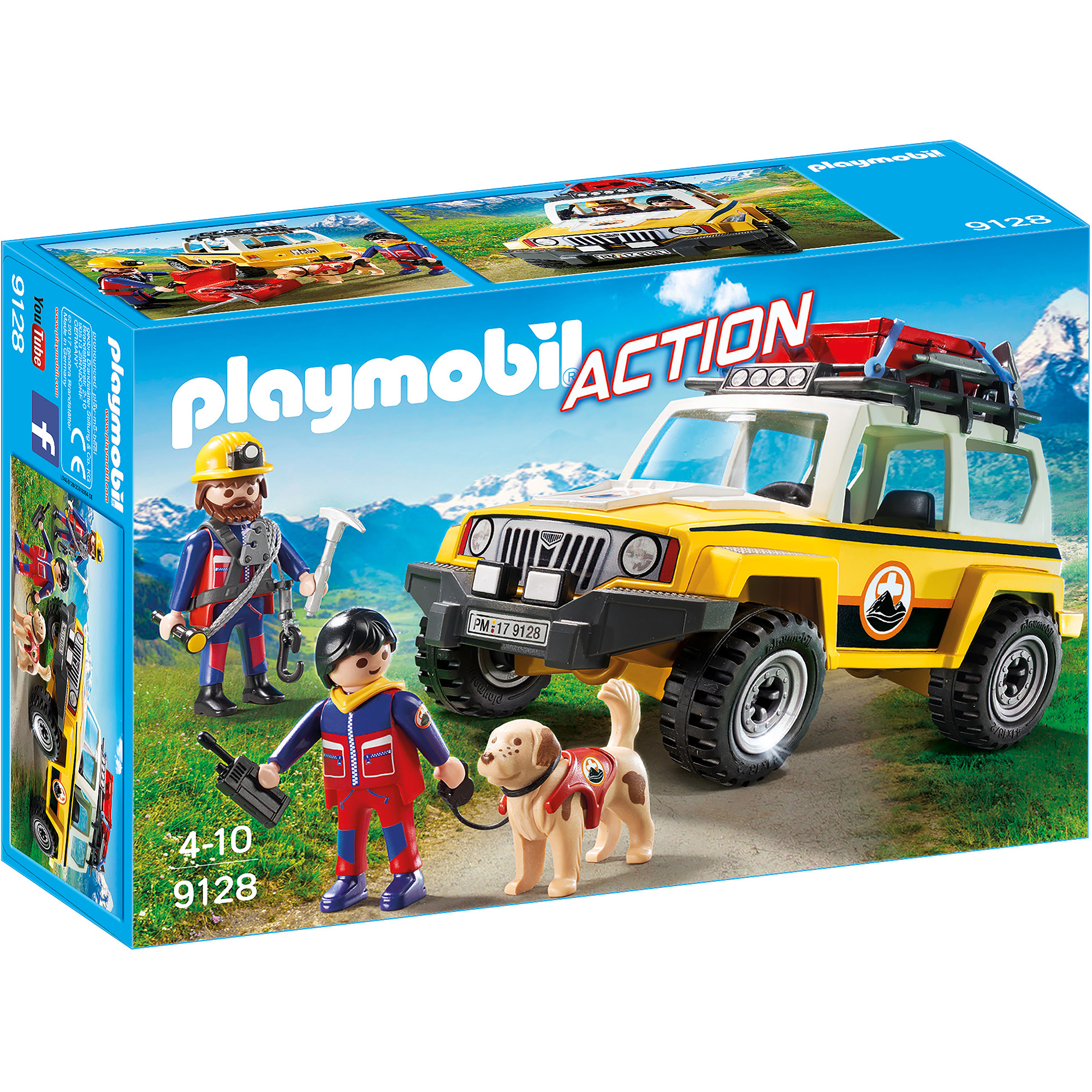 Playmobil Mountain Rescue Truck 9128