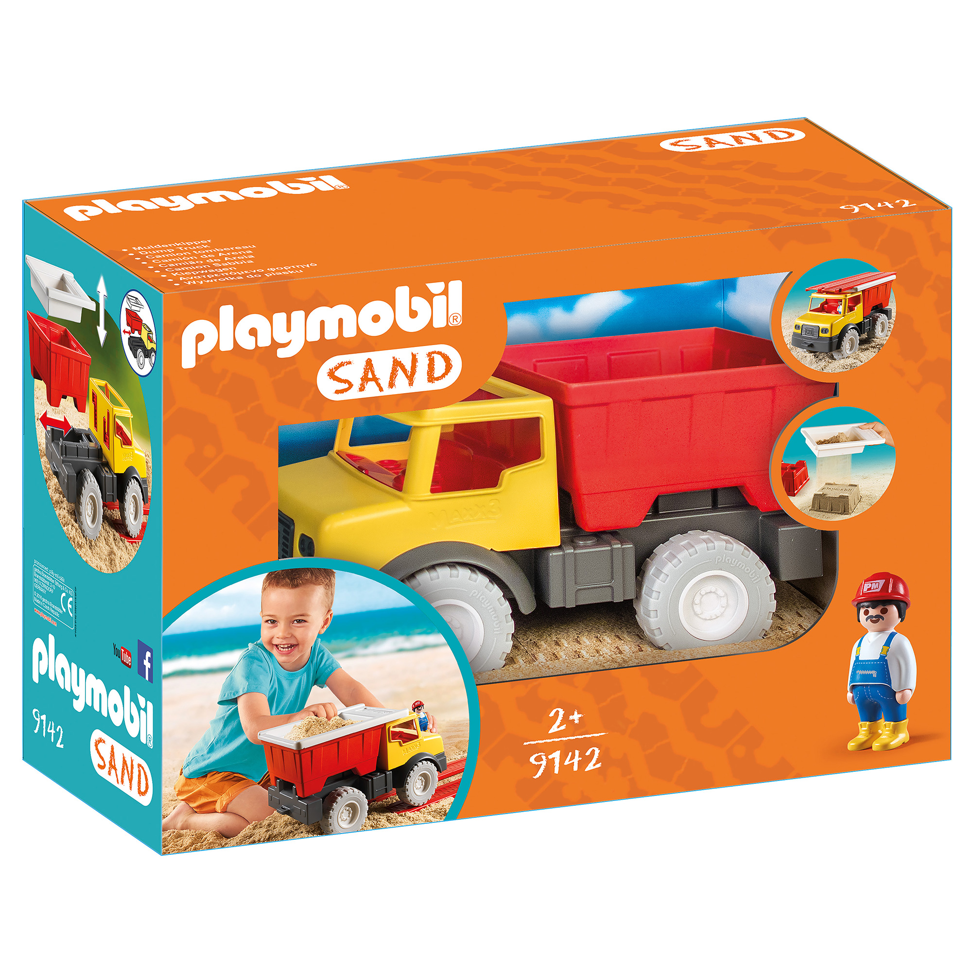 Playmobil Sand Dump Truck With Removable Bucket 9142