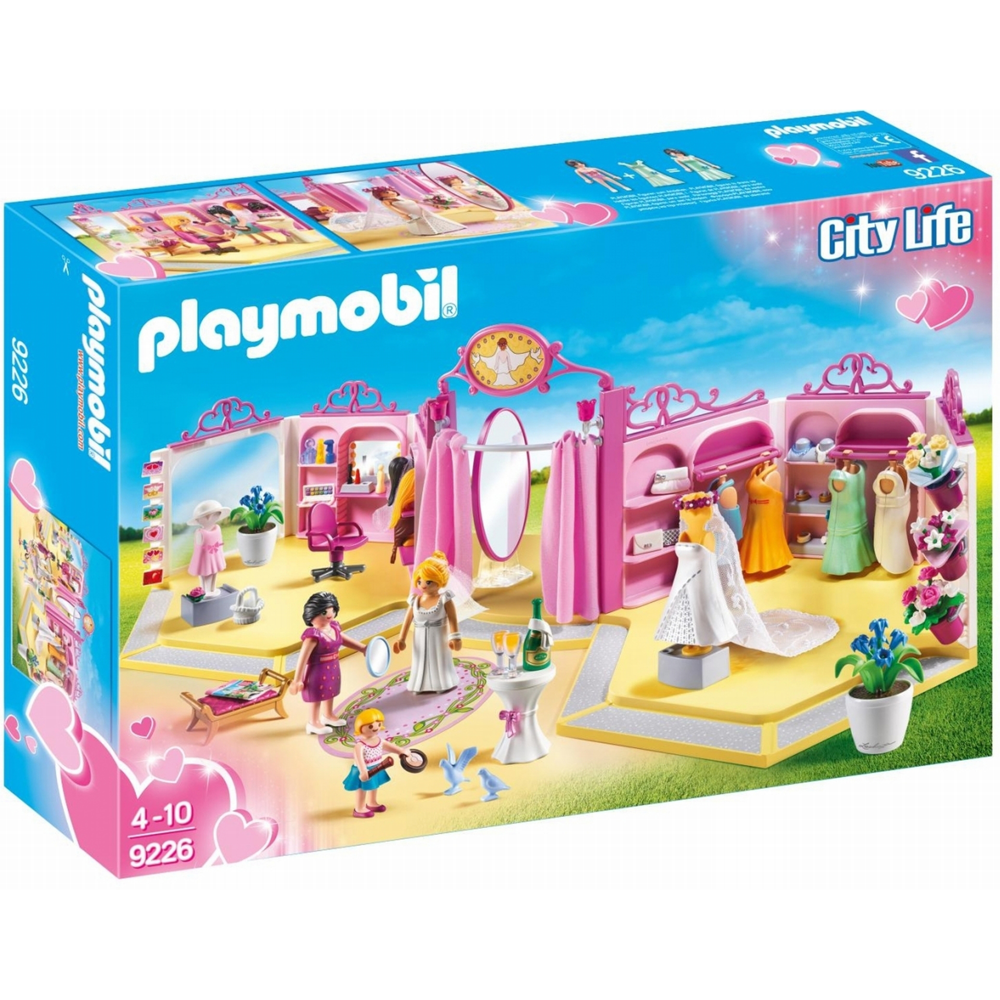 Playmobil City Life Bridal Shop 9226