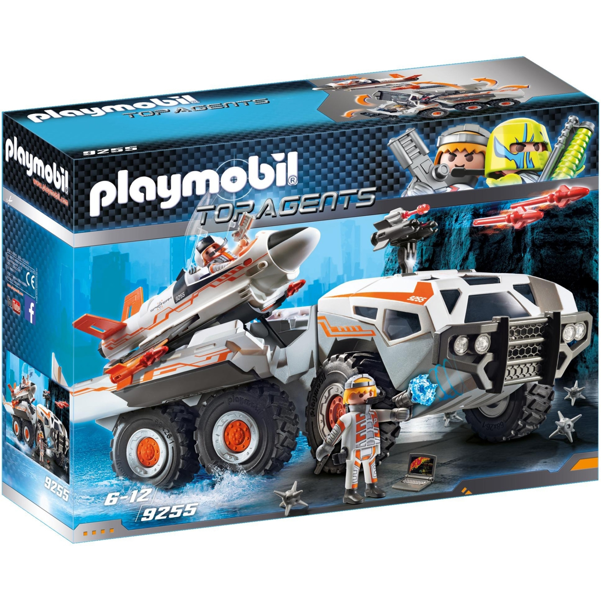 Playmobil Top Agents SpyTeam Battle Truck 9255