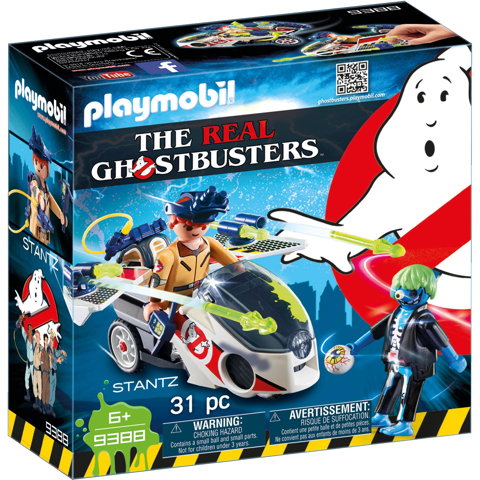 Playmobil Ghostbusters Stantz With Skybike 9388