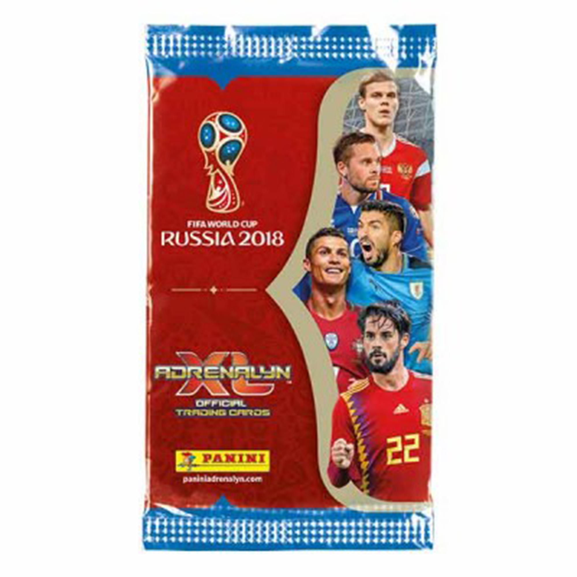 FIFA World Cup Russia 2018 XL Trading Card Game Pack