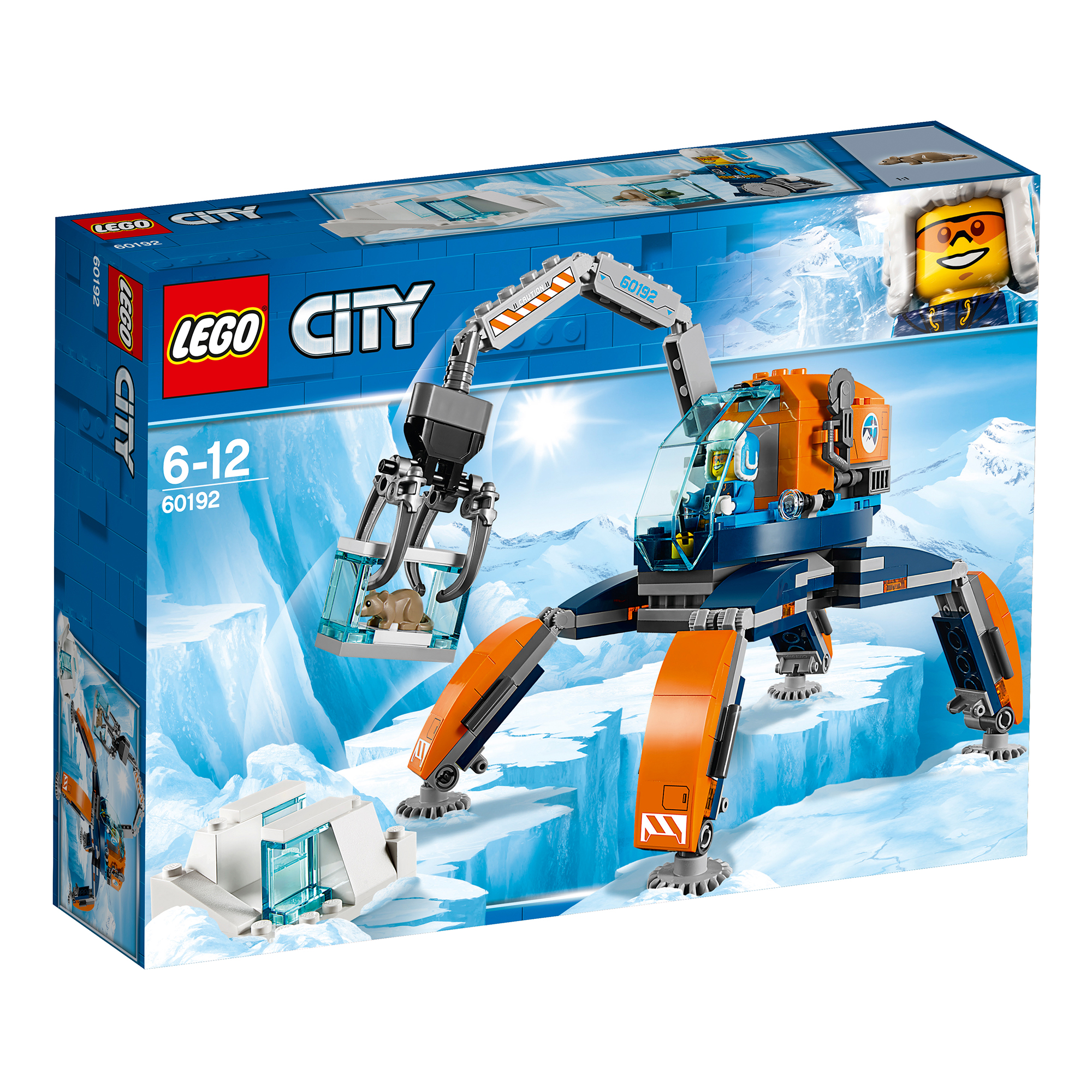 LEGO City Arctic Ice Crawler 60192
