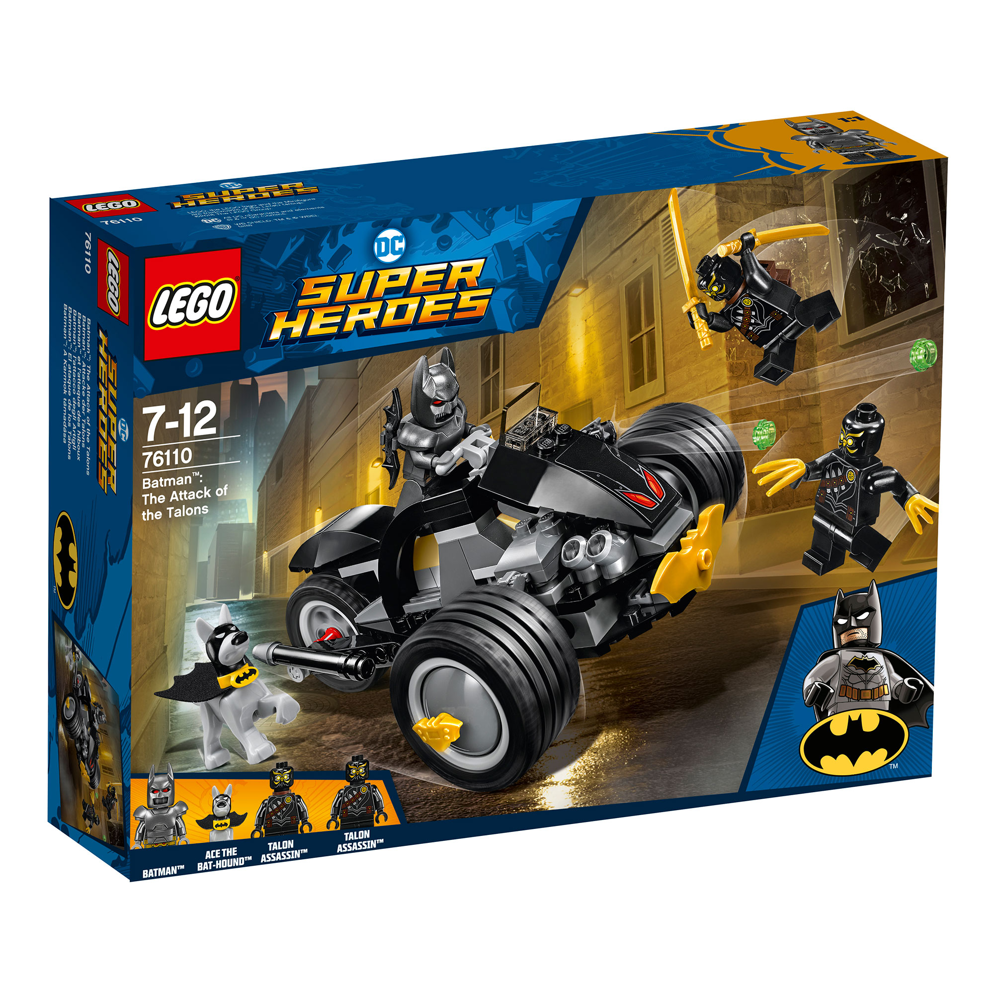 LEGO Batman Attack Of The Talons 76110